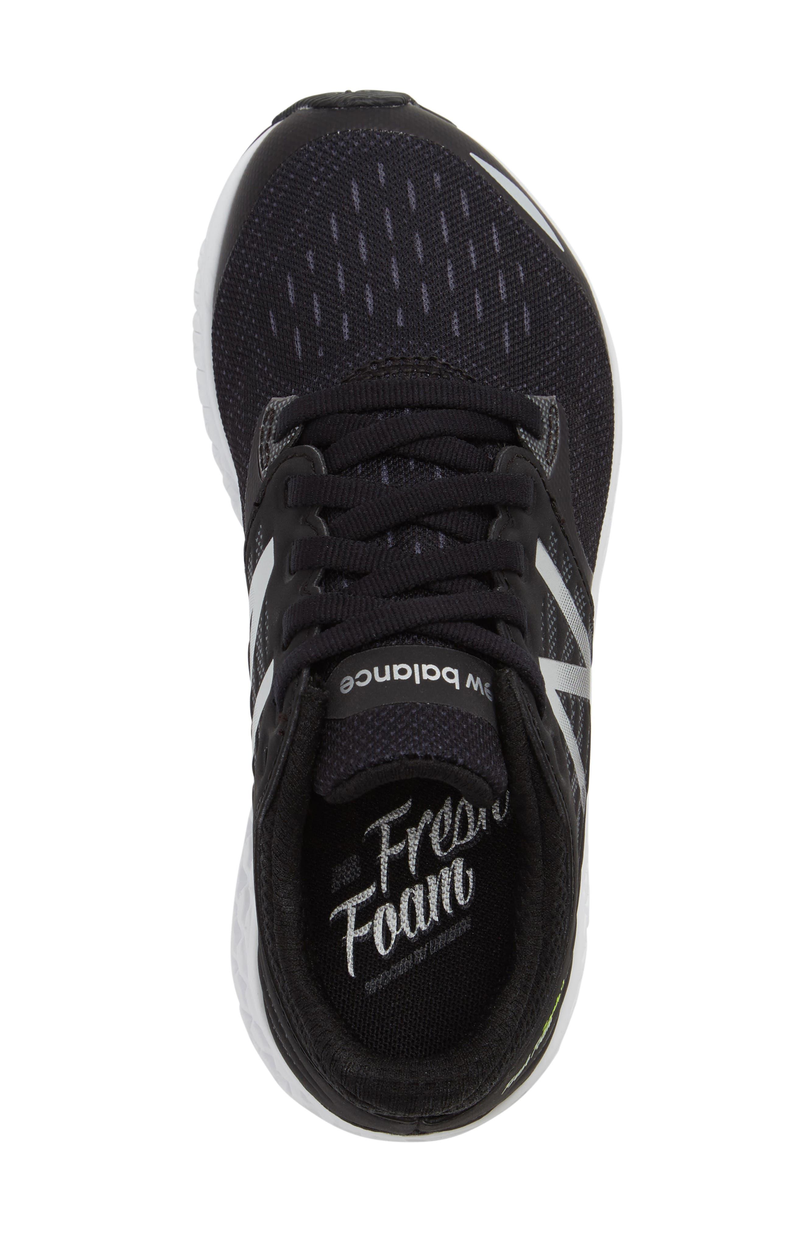 Fresh Foam Sneaker,                             Alternate thumbnail 3, color,                             001