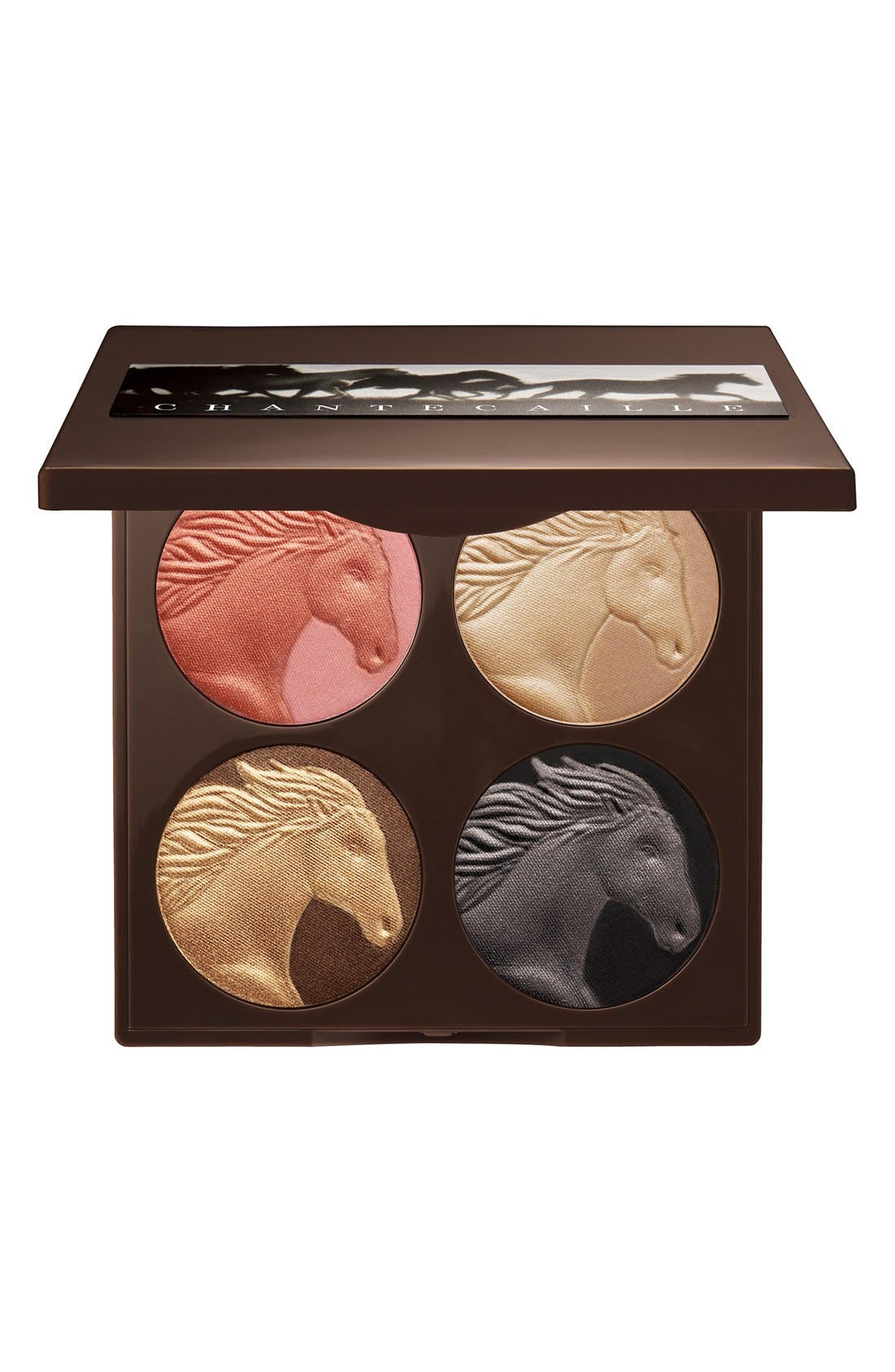 CHANTECAILLE 'Wild Horses' Eyeshadow & Blush Palette, Main, color, 250