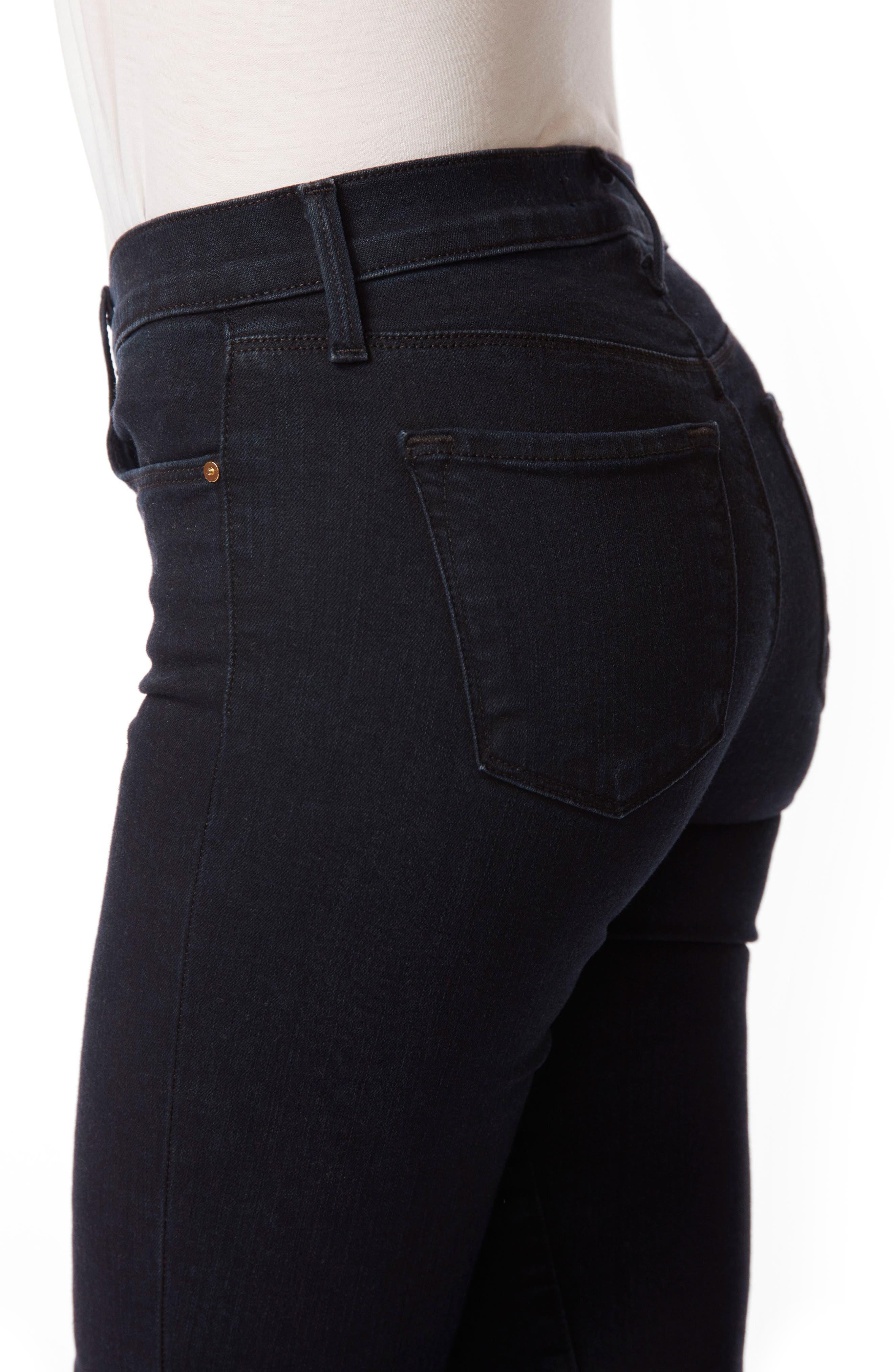 8227 Destroyed Crop Skinny Ankle Jeans,                             Alternate thumbnail 5, color,                             407