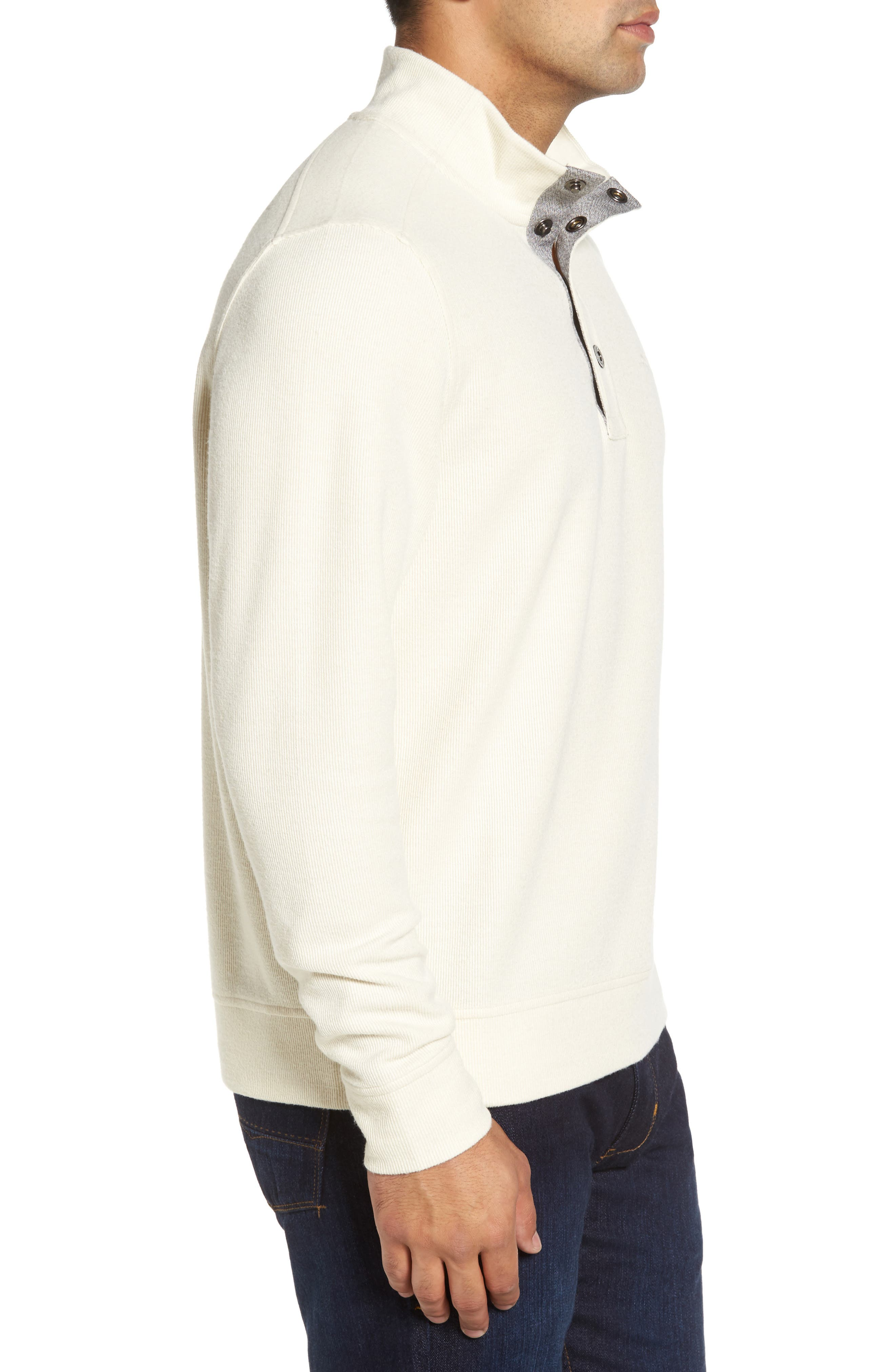 Cold Springs Snap Mock Neck Sweater,                             Alternate thumbnail 14, color,