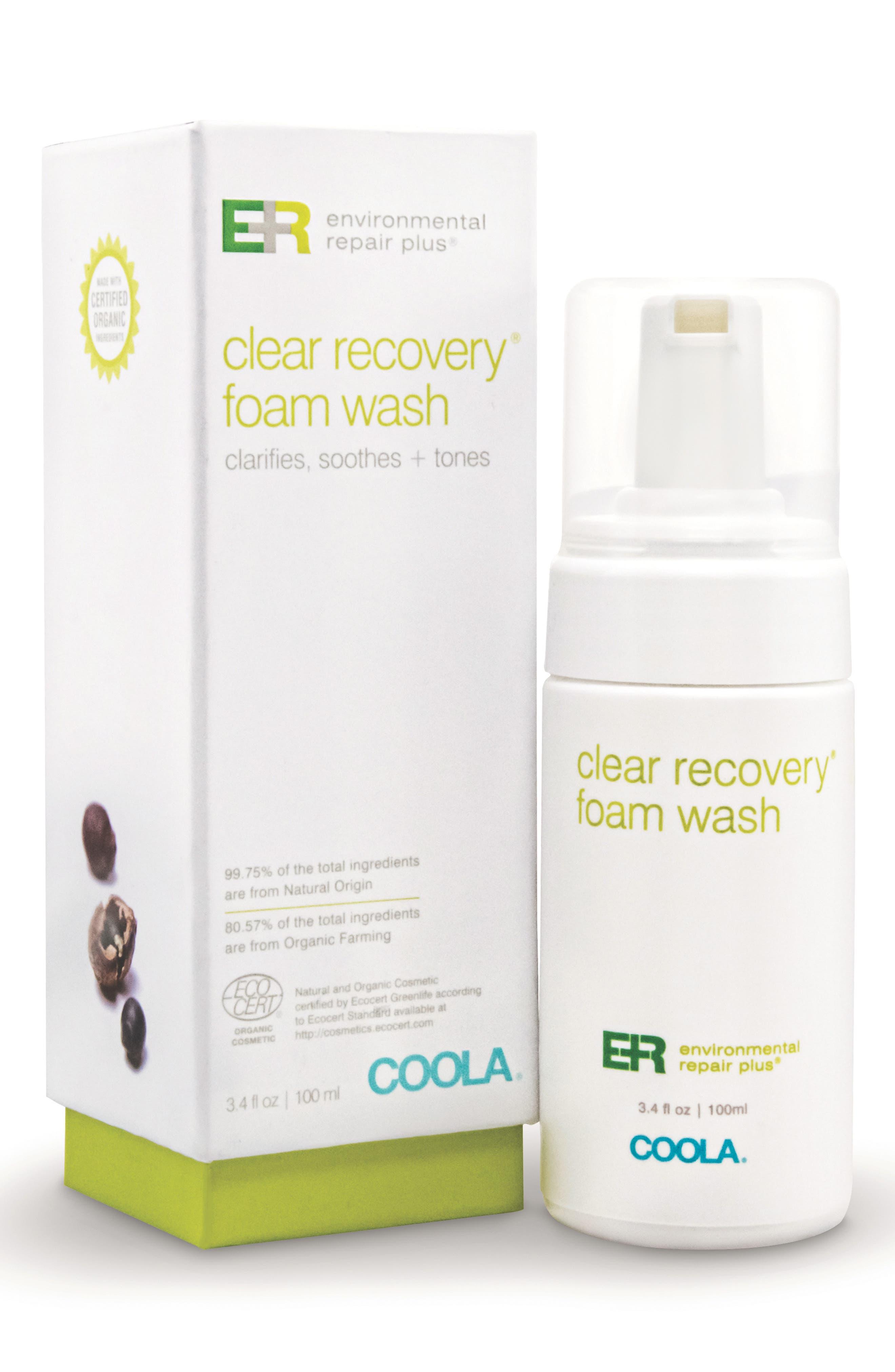 COOLA<sup>®</sup> Suncare Environmental Repair Plus<sup>®</sup> Clear Recovery<sup>™</sup> Foam Wash,                             Alternate thumbnail 3, color,                             000