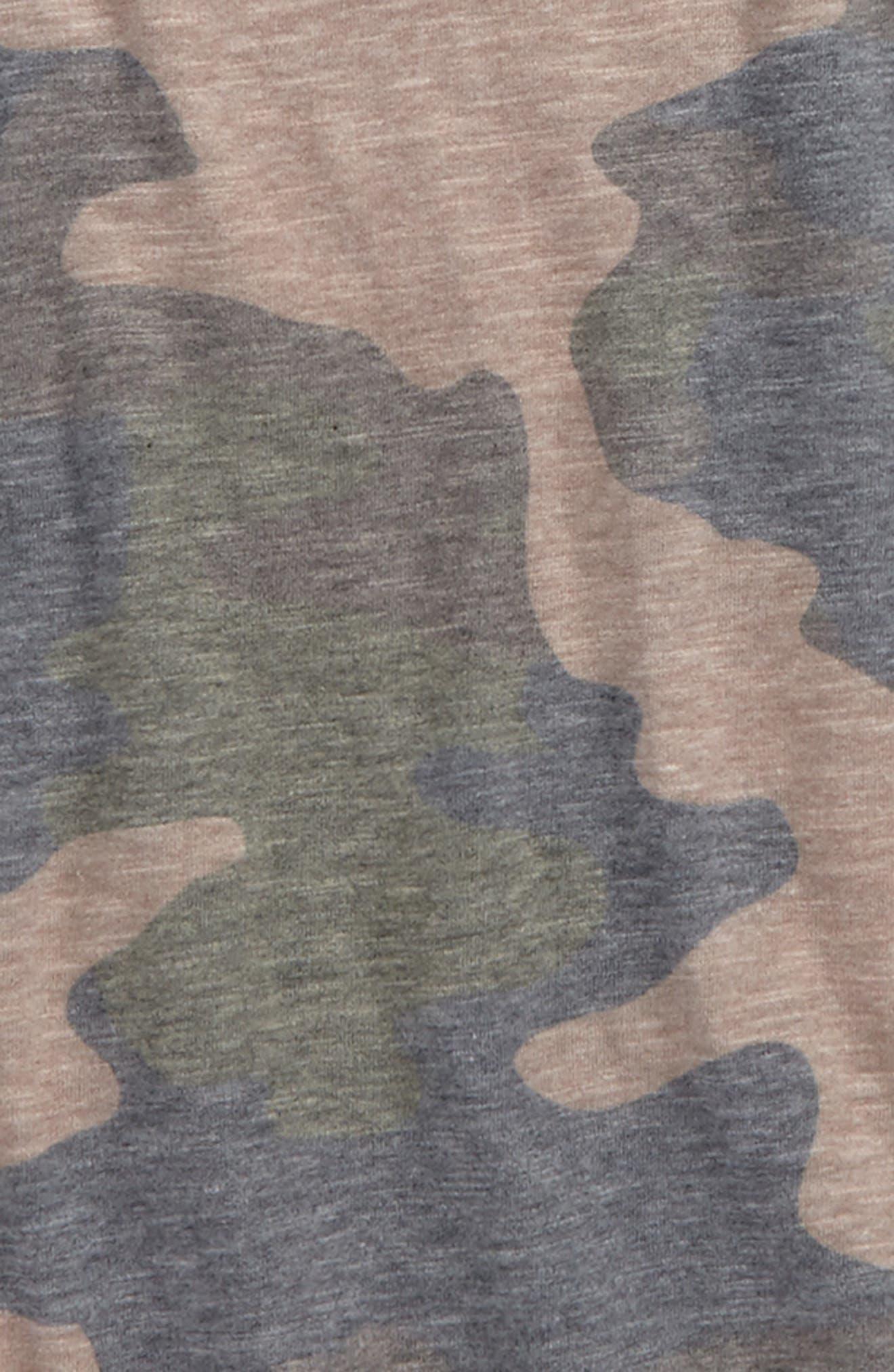Camo Print T-Shirt,                             Alternate thumbnail 2, color,                             300