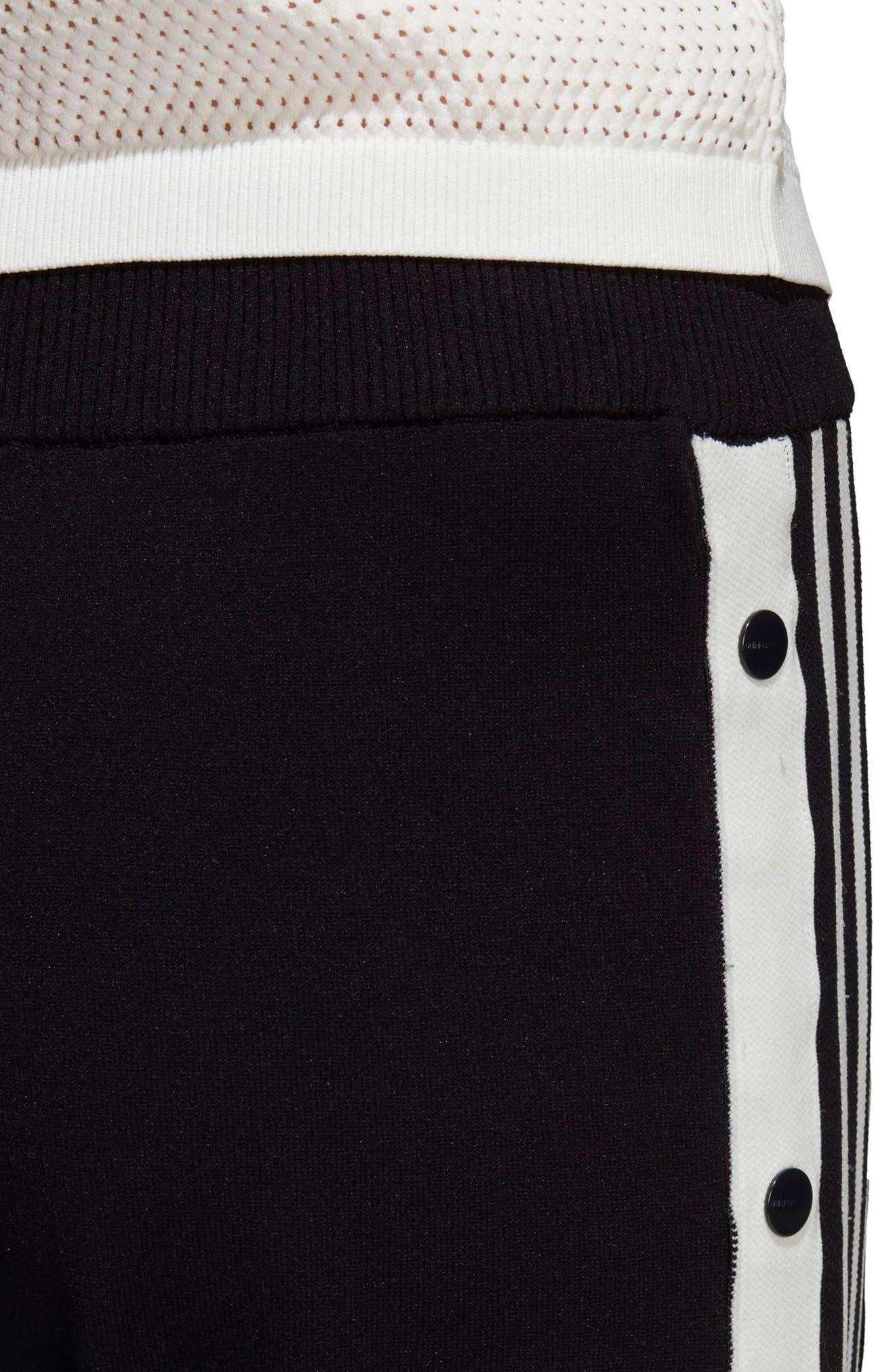 Adibreak Track Pants,                             Alternate thumbnail 6, color,                             BLACK