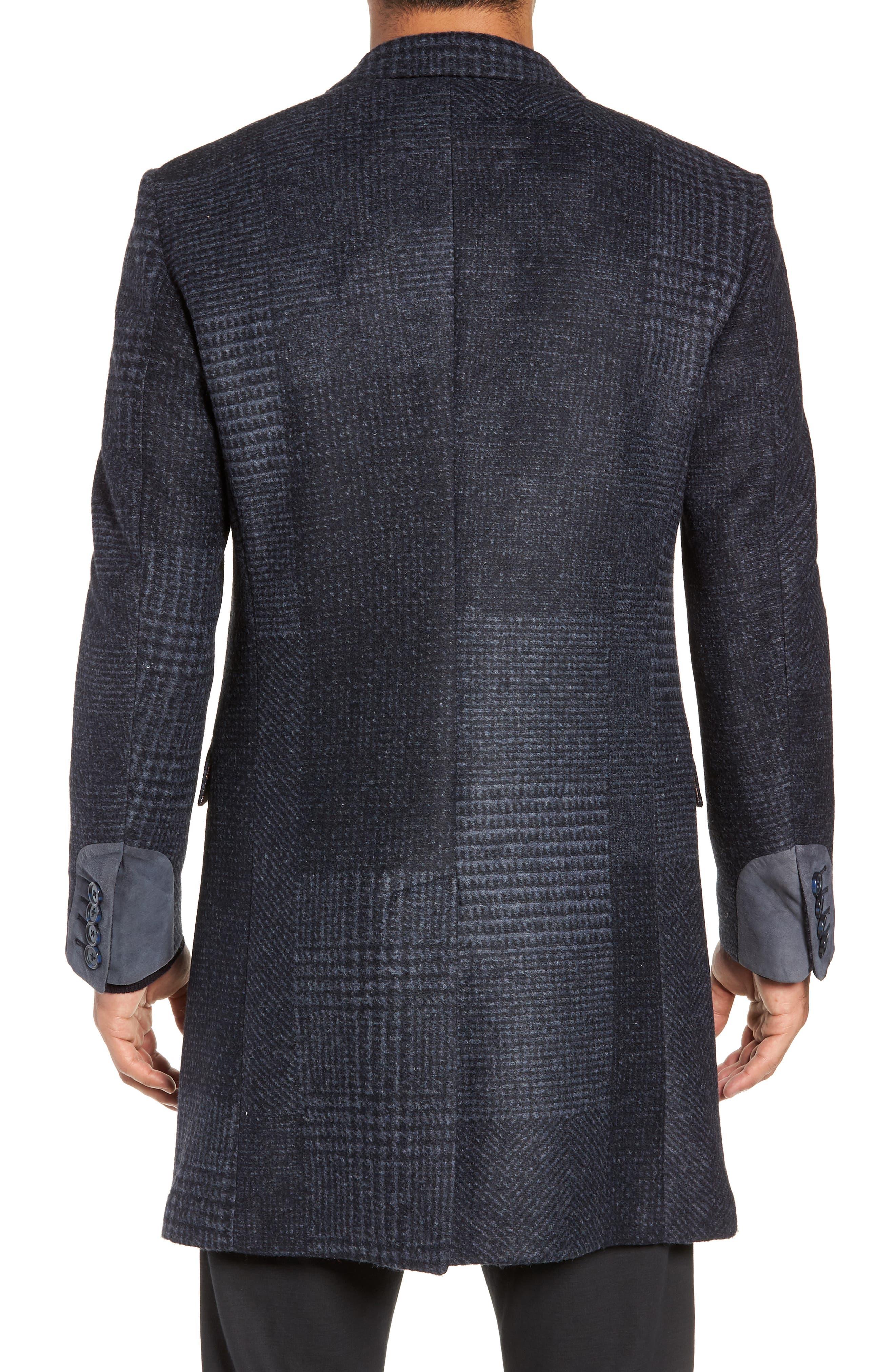 Lamberton Classic Top Coat,                             Alternate thumbnail 2, color,                             NAVY