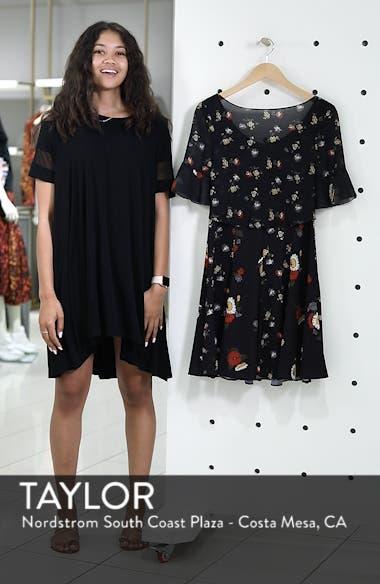Baudet Print Fit & Flare Dress, sales video thumbnail