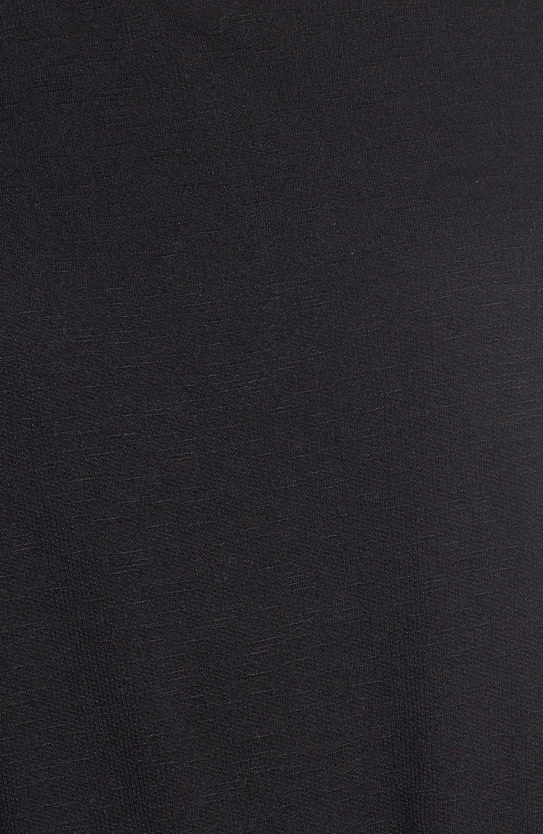 Knit Blouson Jumpsuit,                             Alternate thumbnail 3, color,                             001
