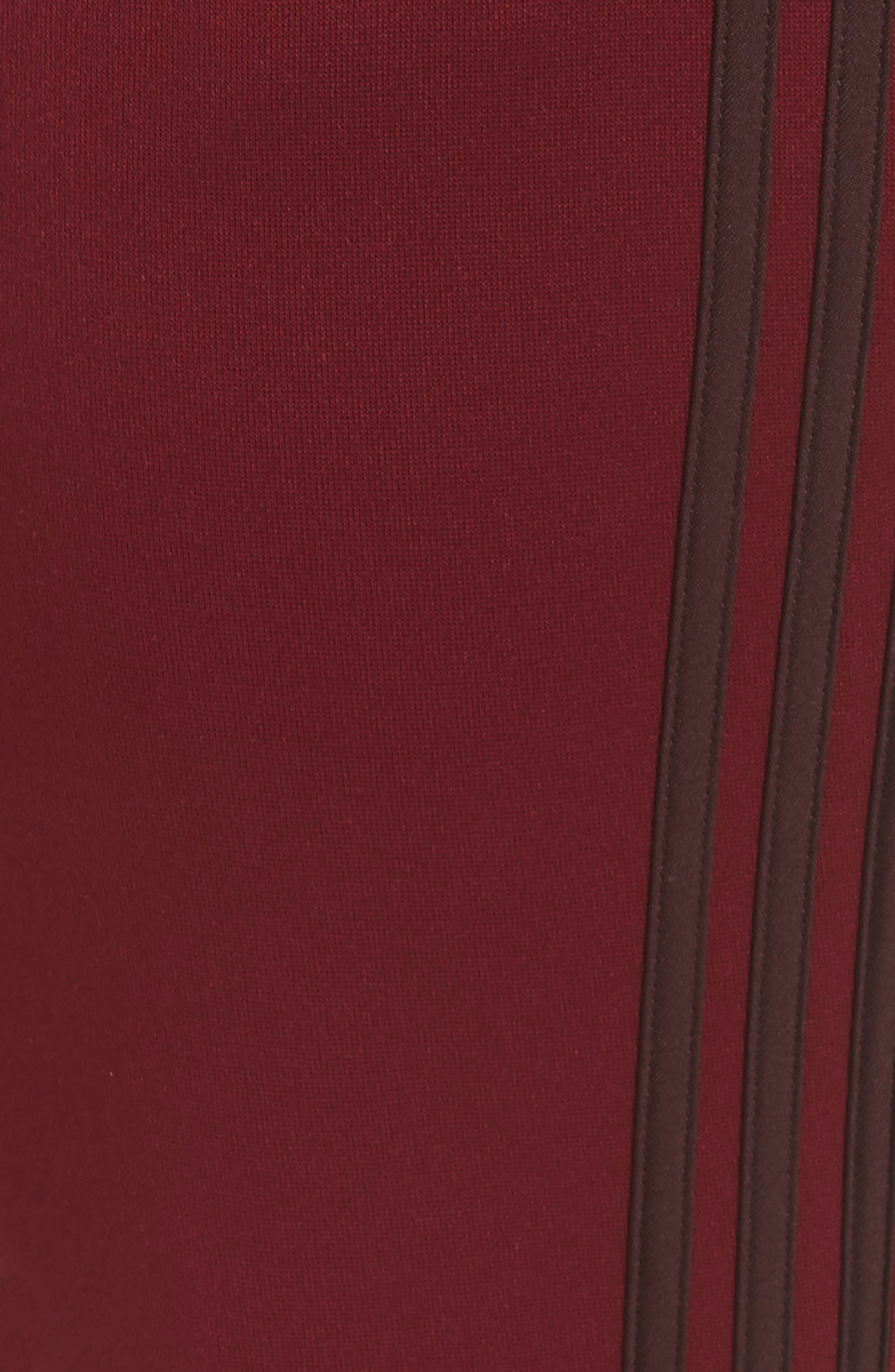 Tricot Snap Pants,                             Alternate thumbnail 11, color,                             NOBLE MAROON/ NIGHT RED