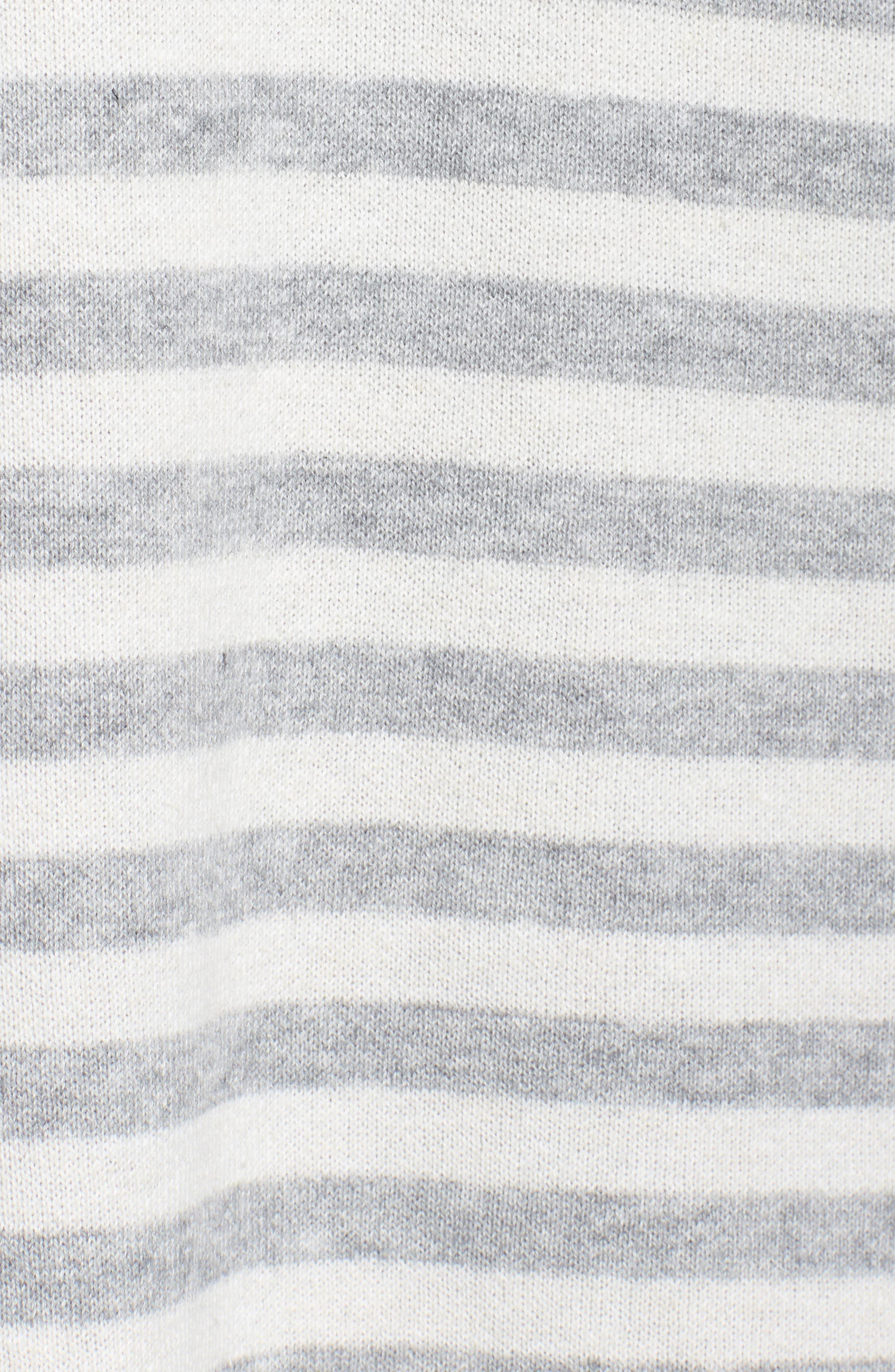 Reversible Organic Cotton Blend Cardigan,                             Alternate thumbnail 5, color,                             500