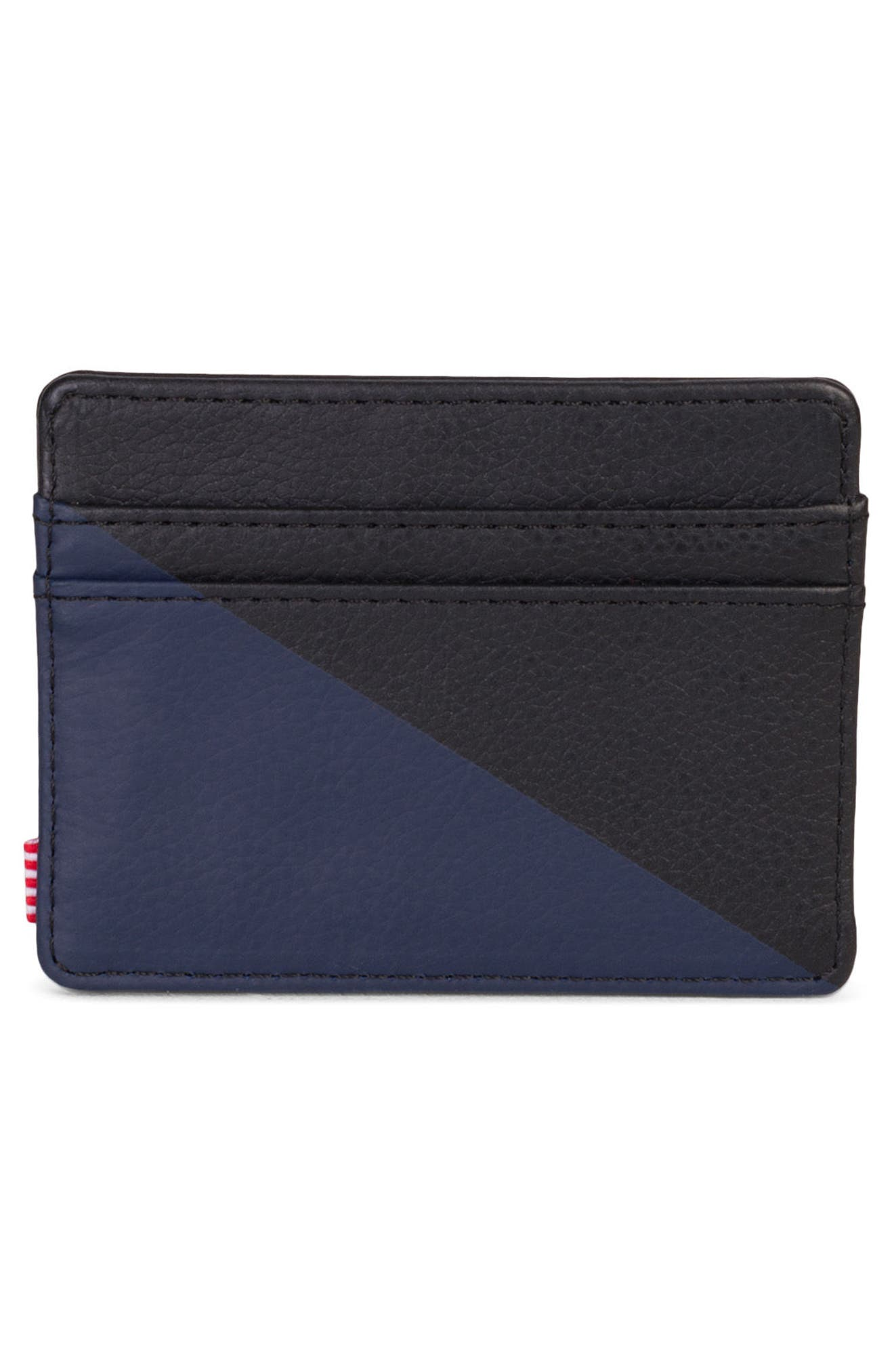 Charlie Leather Card Case,                             Alternate thumbnail 3, color,