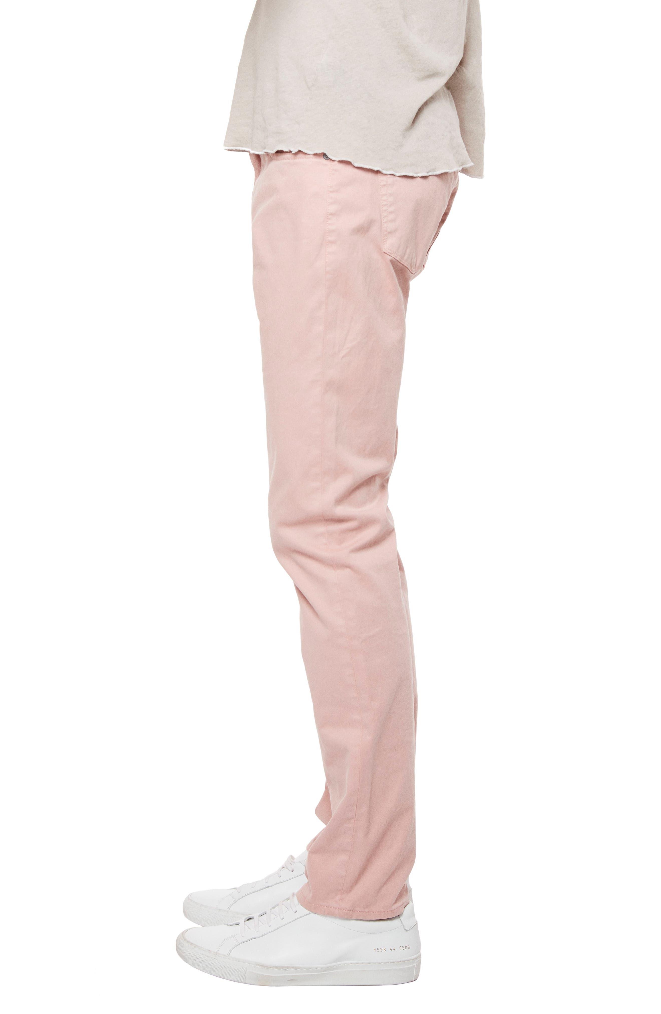 'Kane' Slim Fit Cotton Twill Pants,                             Alternate thumbnail 61, color,