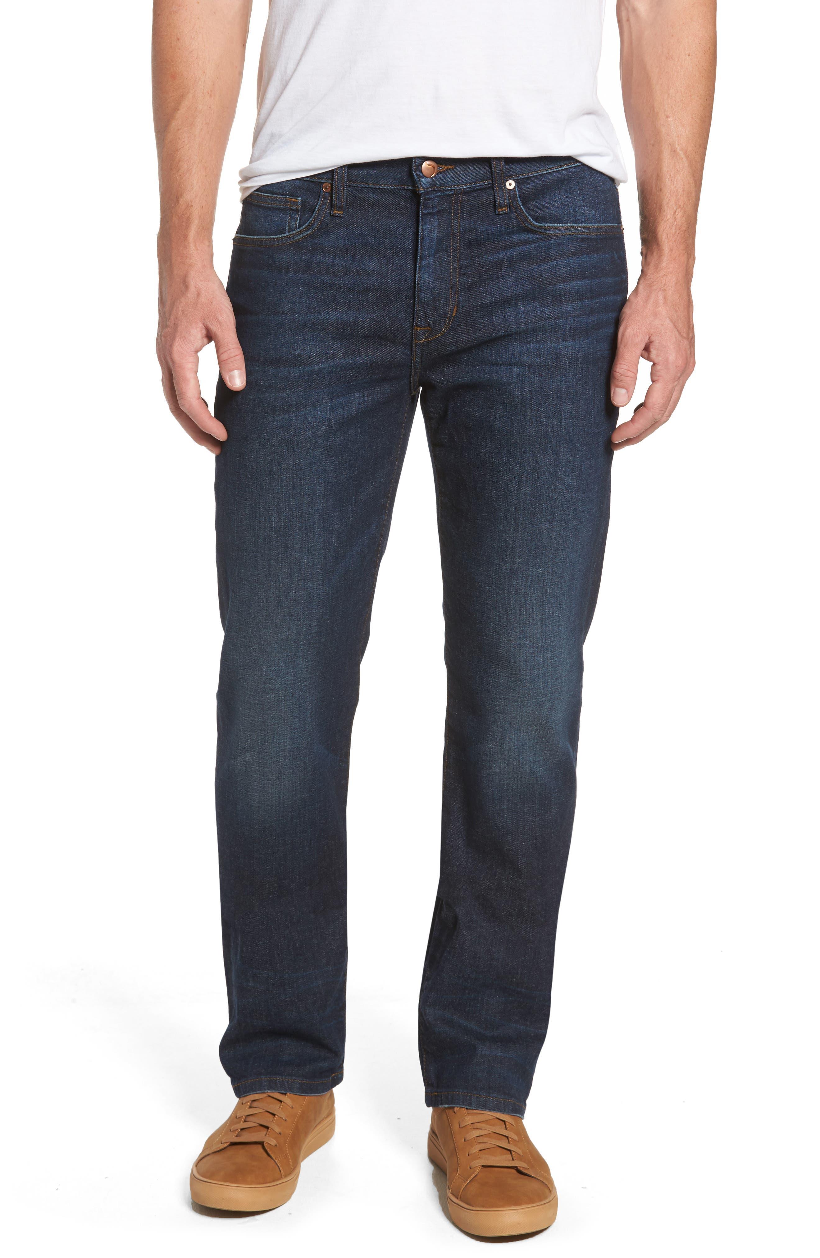 Classic Straight Leg Jeans,                             Main thumbnail 1, color,                             439