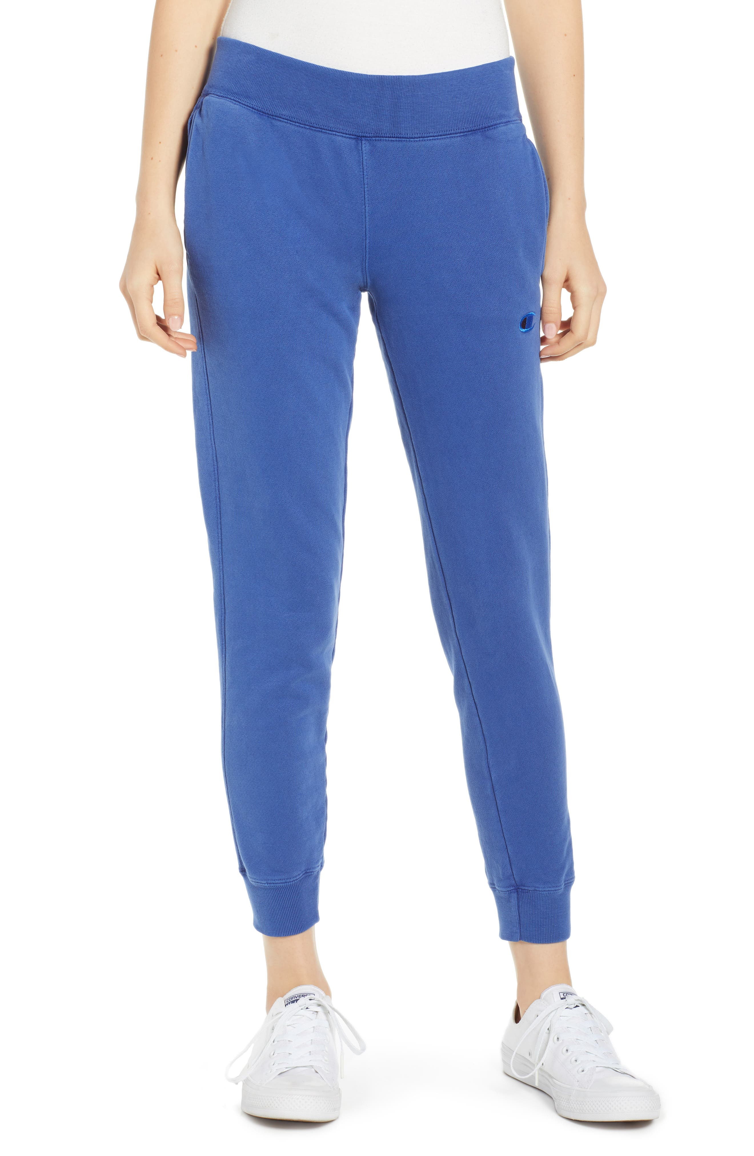 CHAMPION, Garment Dyed Jogger Pants, Main thumbnail 1, color, 400