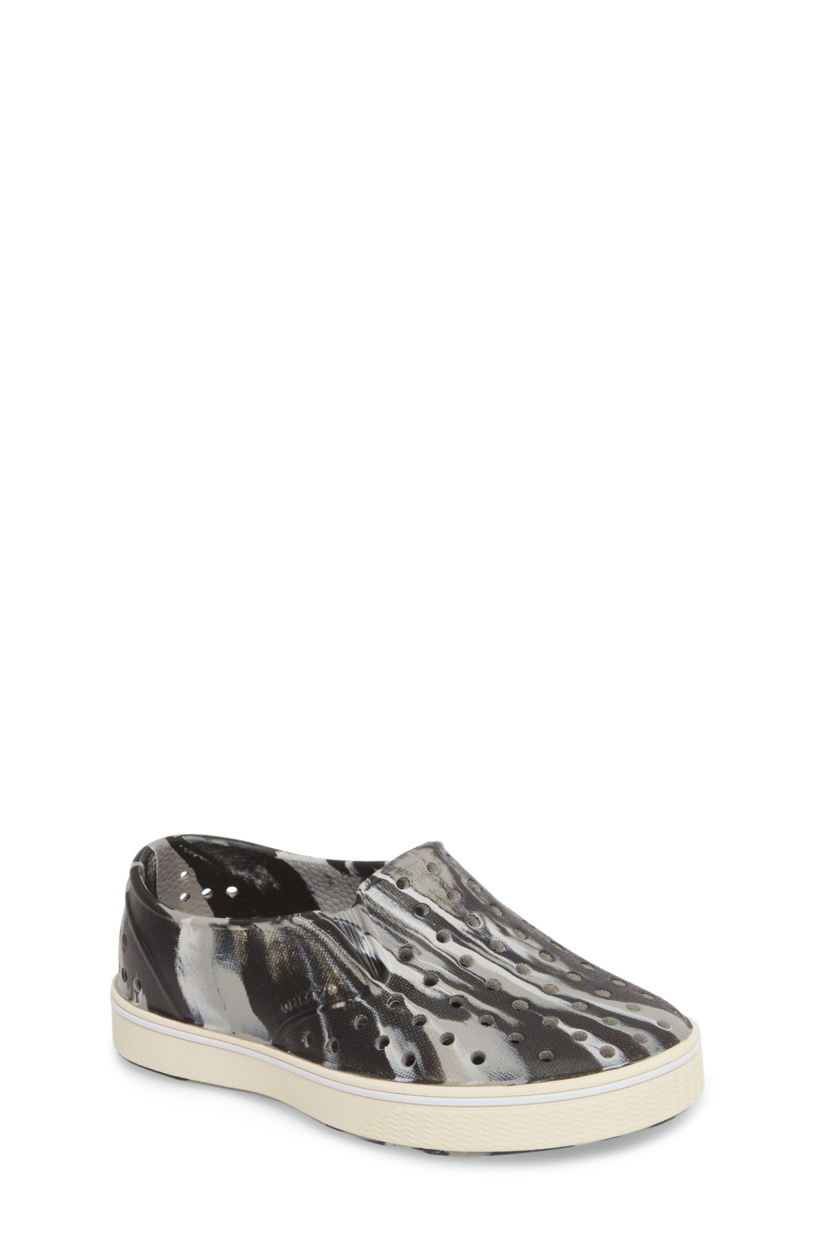 Miles Marbled Slip-On Sneaker,                             Main thumbnail 1, color,                             001