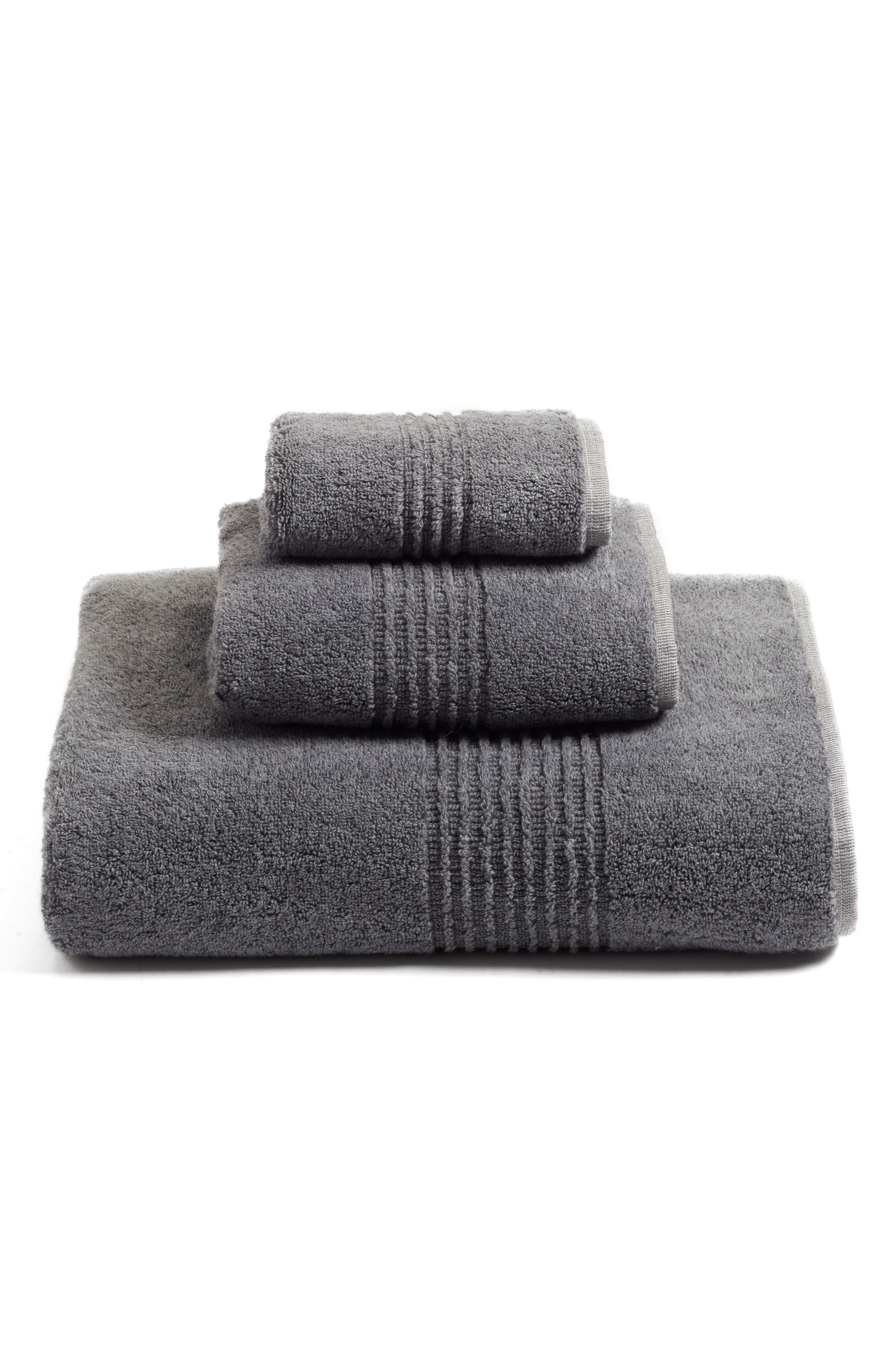 Organic Hydrocotton Heathered Hand Towel,                             Alternate thumbnail 2, color,                             021