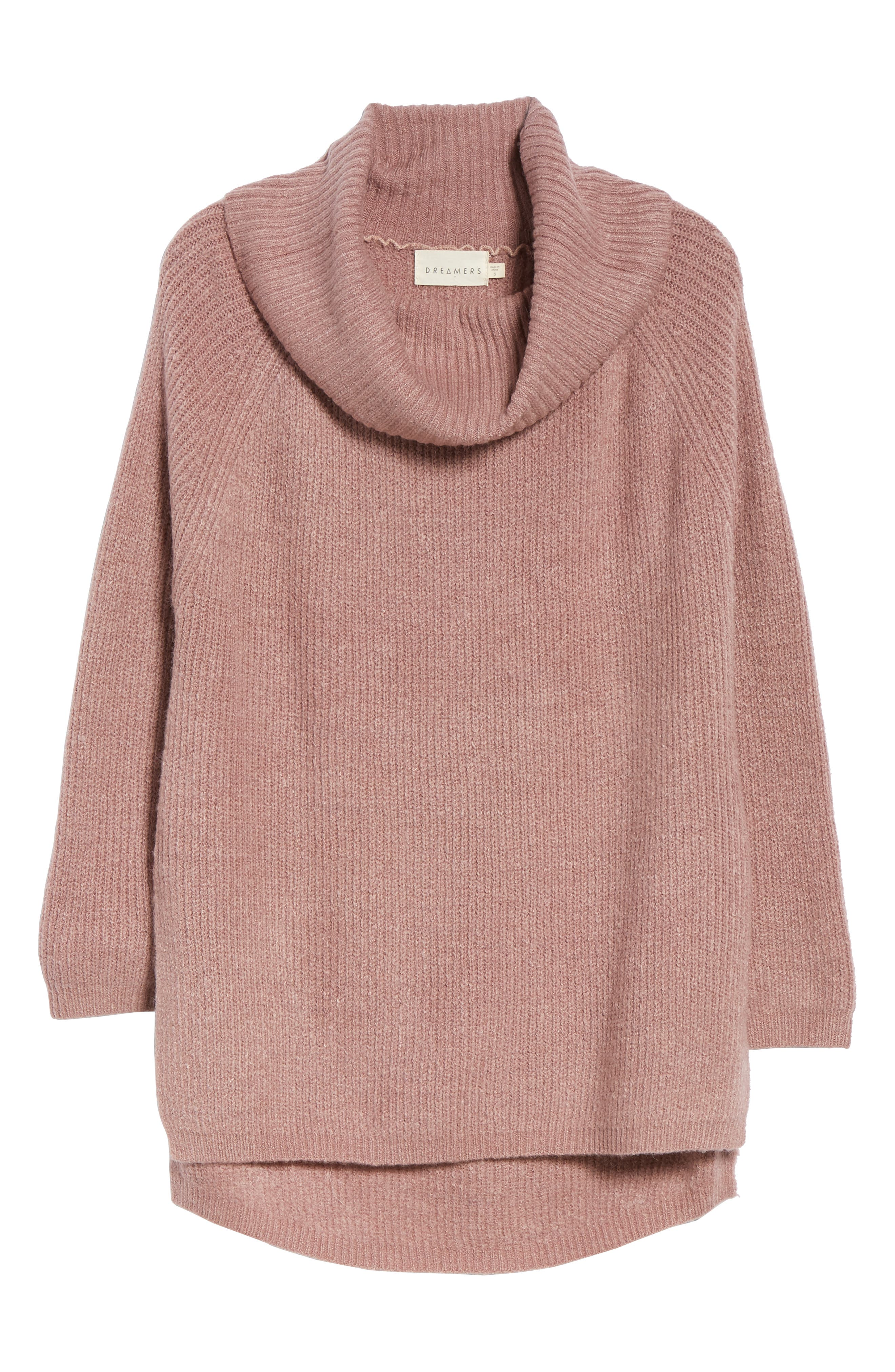 Cowl Neck Sweater,                             Alternate thumbnail 6, color,                             500