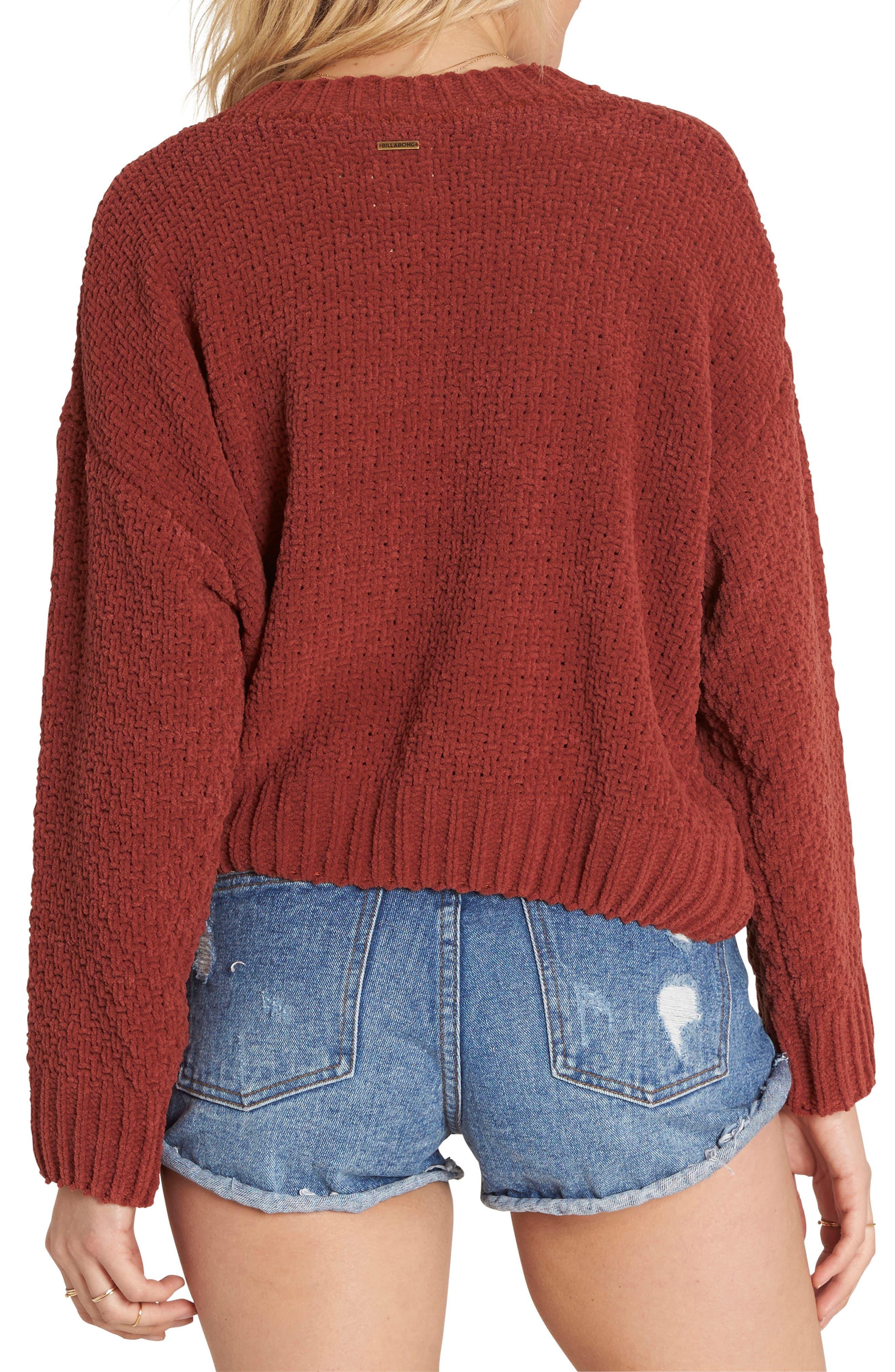 All Mine Chenille Sweater,                             Alternate thumbnail 4, color,