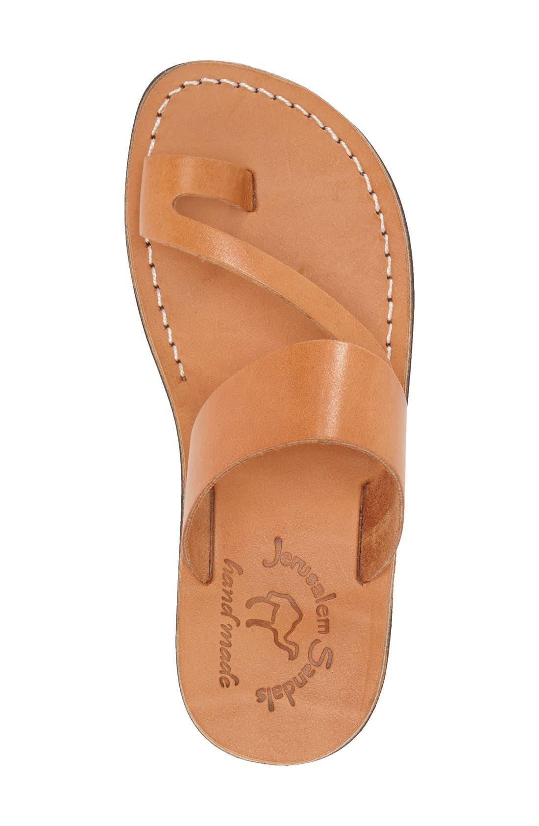 'Zohar' Leather Sandal,                             Alternate thumbnail 13, color,