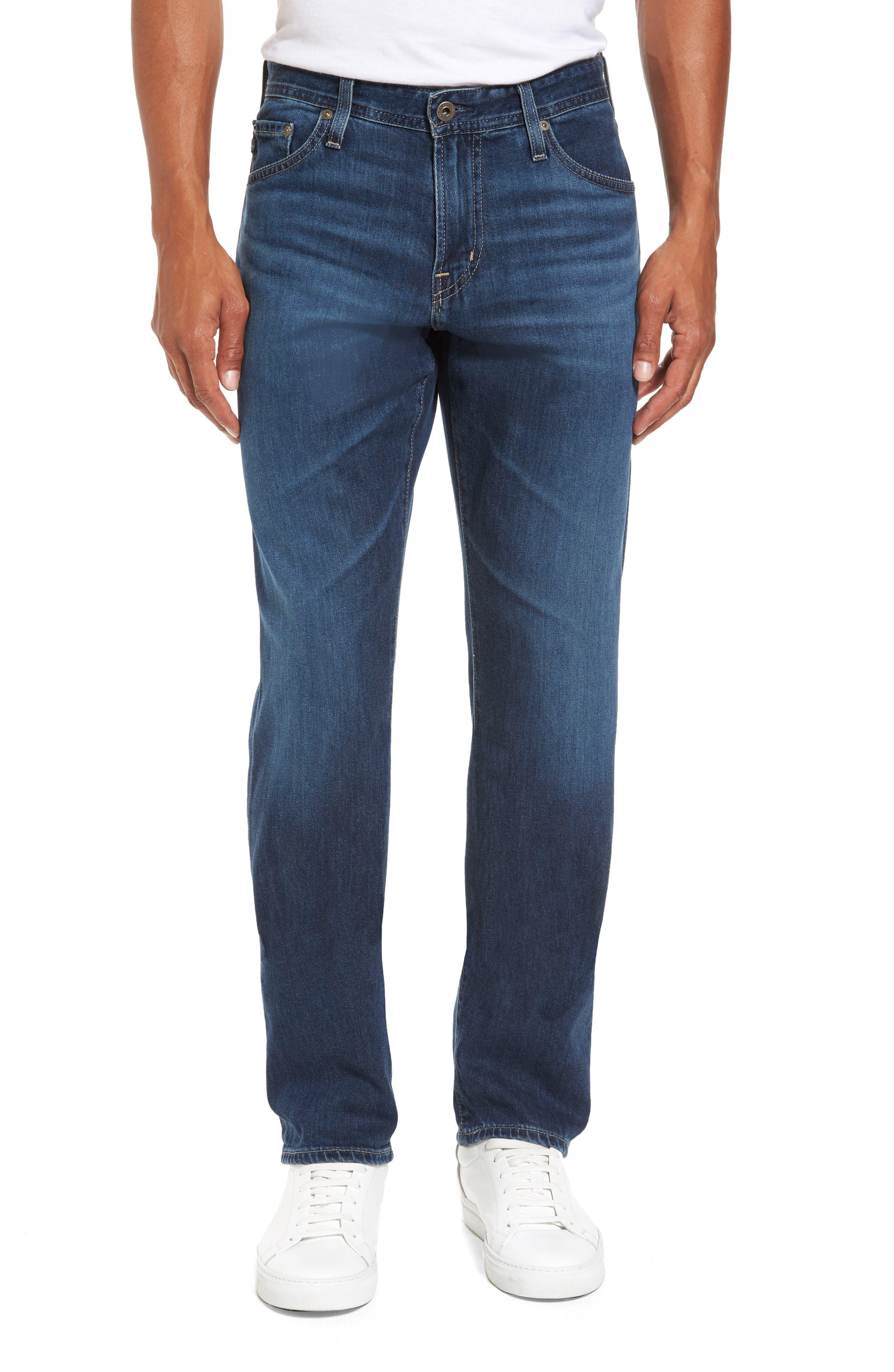 Graduate Slim Straight Leg Jeans,                             Main thumbnail 1, color,