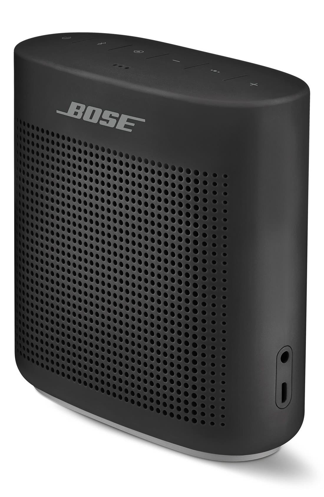 BOSE<SUP>®</SUP>,                             SoundLink<sup>®</sup> Color Bluetooth<sup>®</sup> Speaker II,                             Alternate thumbnail 5, color,                             SOFT BLACK