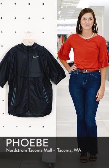 Running Shield Short Sleeve Hooded Jacket, sales video thumbnail