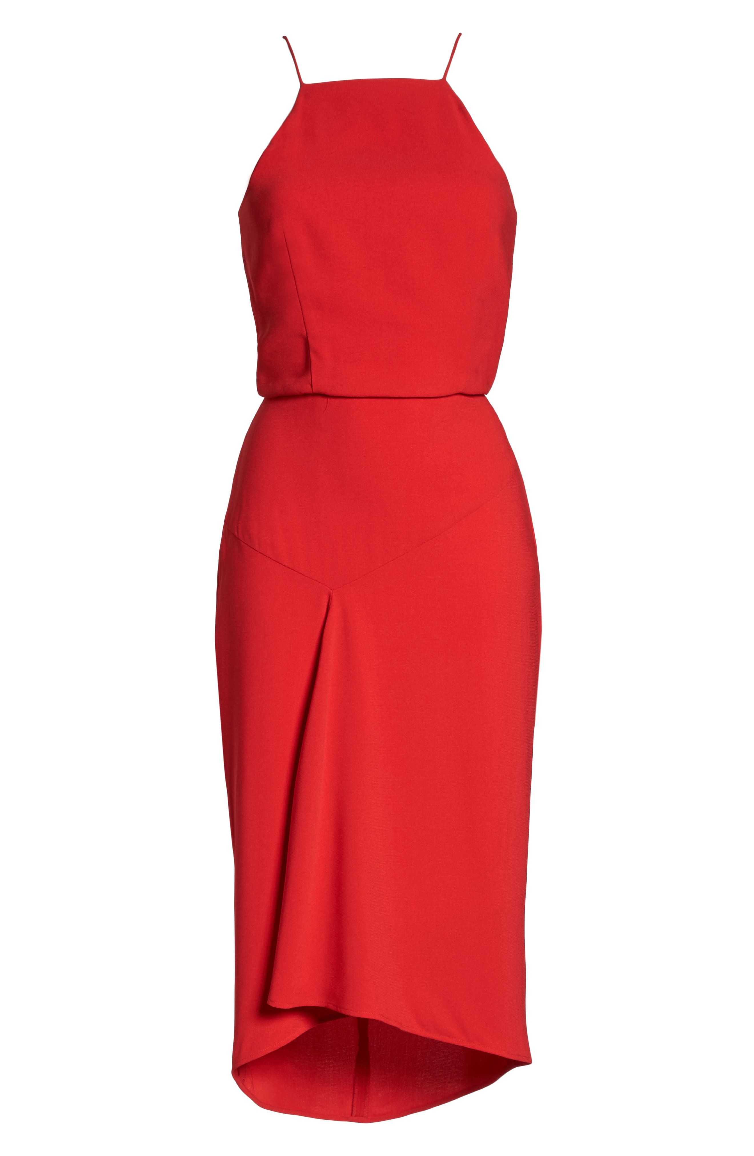 Shari Midi Dress,                             Alternate thumbnail 6, color,                             610