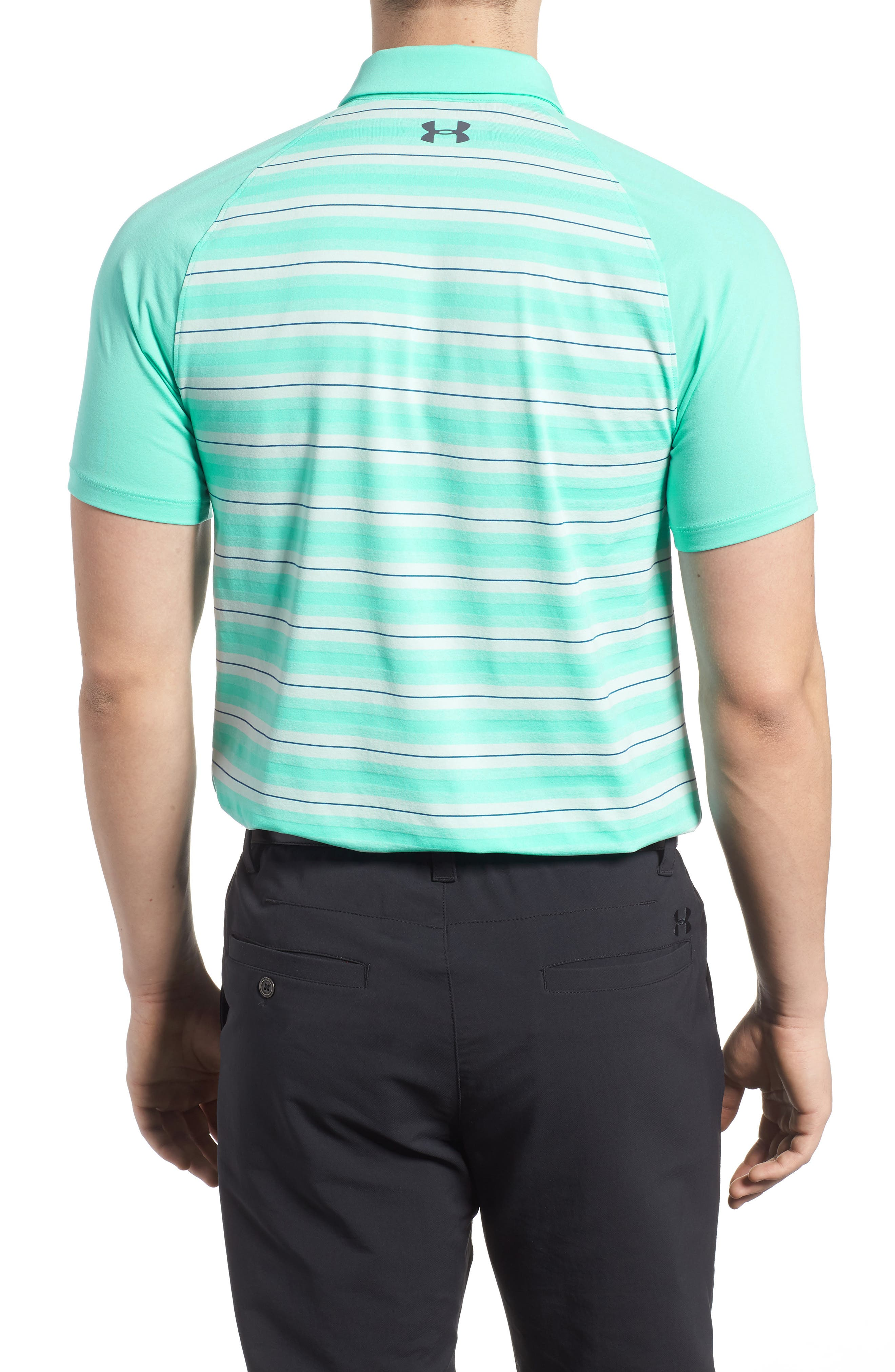 Threadborne Boundless Regular Fit Polo Shirt,                             Alternate thumbnail 2, color,                             TROPICAL TIDE/ RHINO GREY