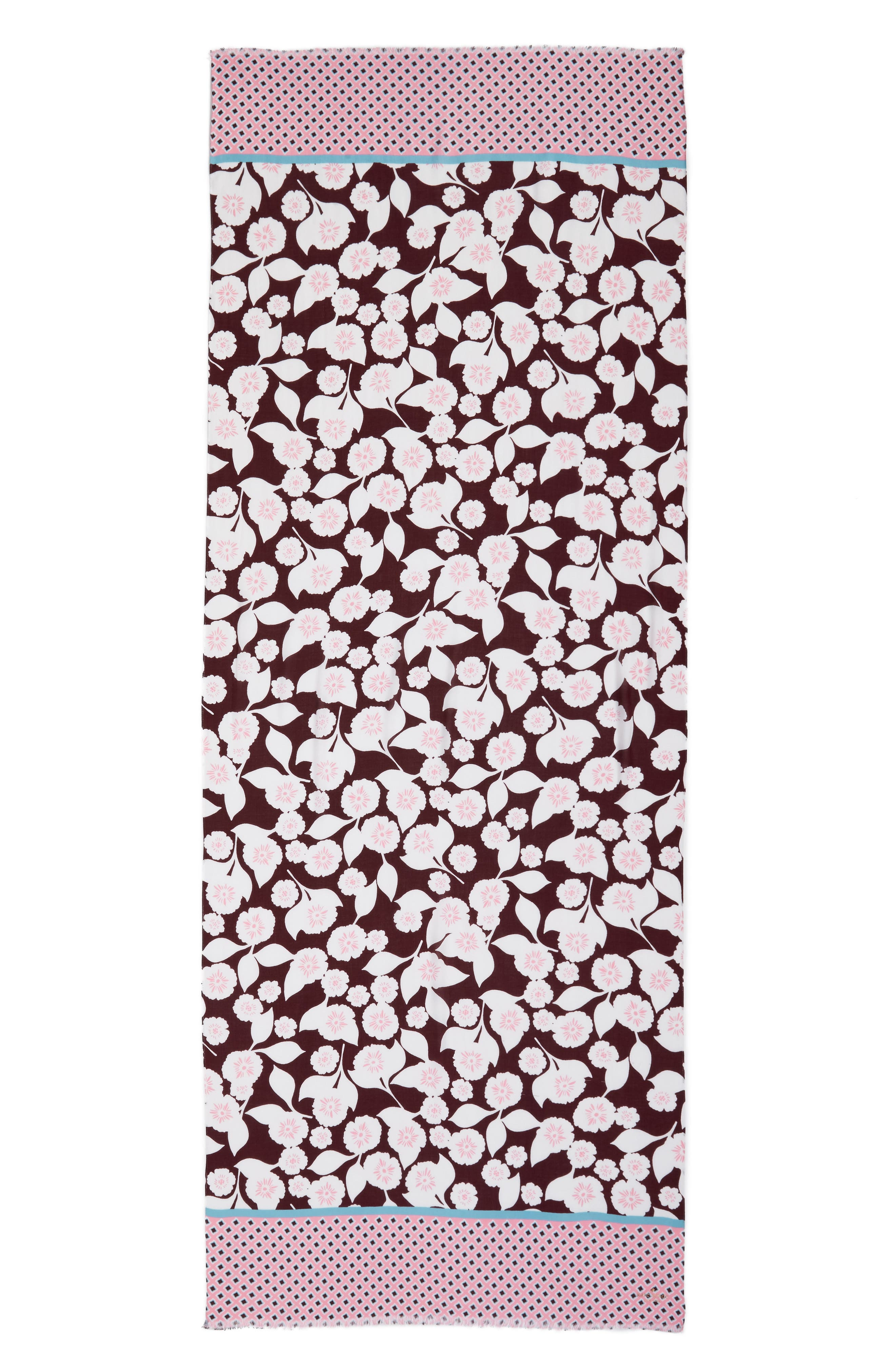 swinging floral scarf,                             Alternate thumbnail 3, color,                             930