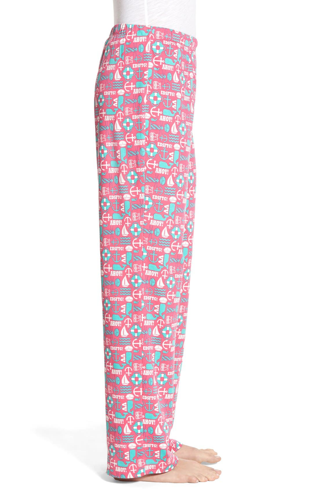 VINEYARD VINES,                             'Nautical Icon' Cotton Lounge Pants,                             Alternate thumbnail 3, color,                             658