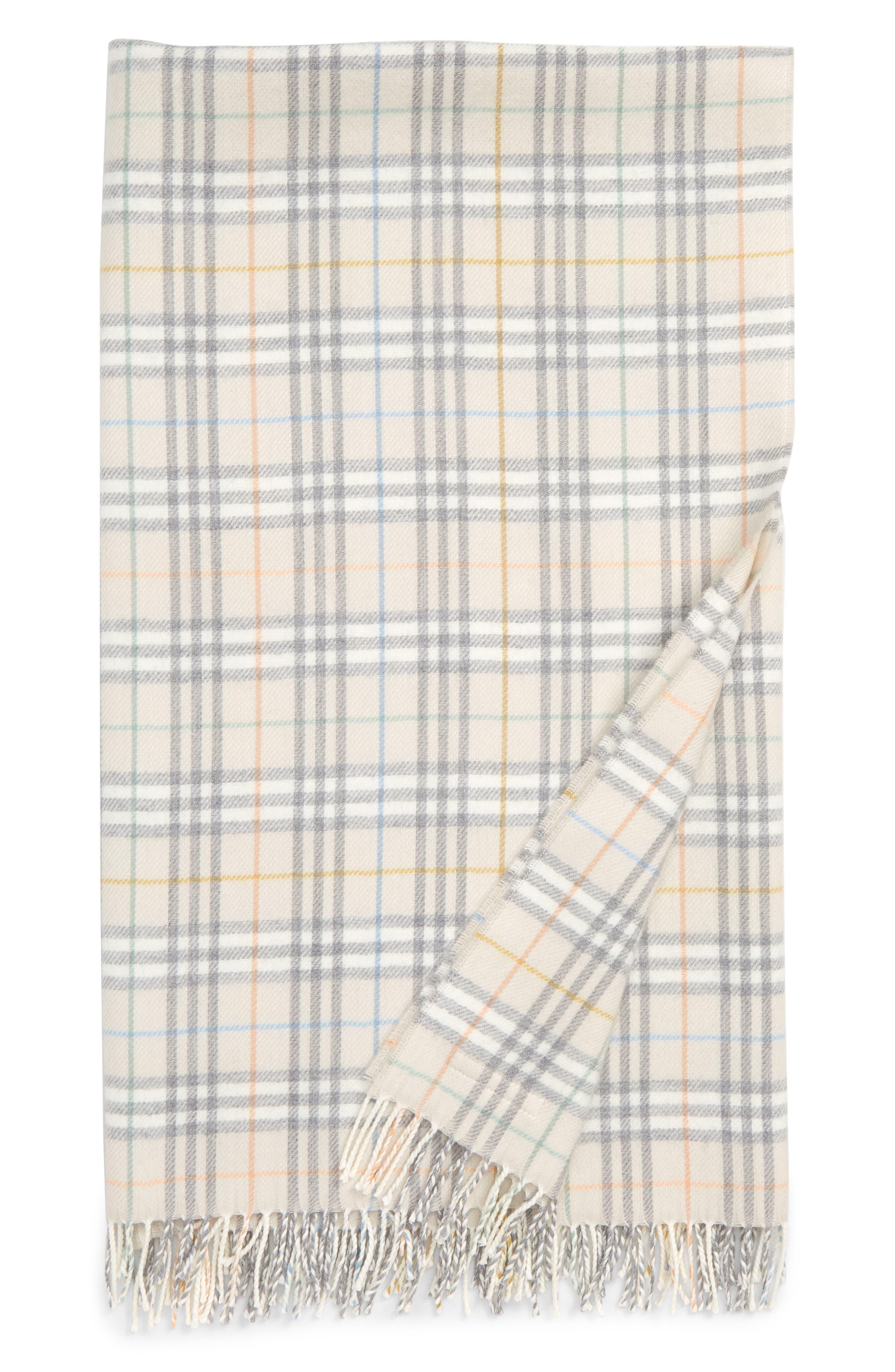 Merino Wool Blanket, Main, color, IVORY IP CHK