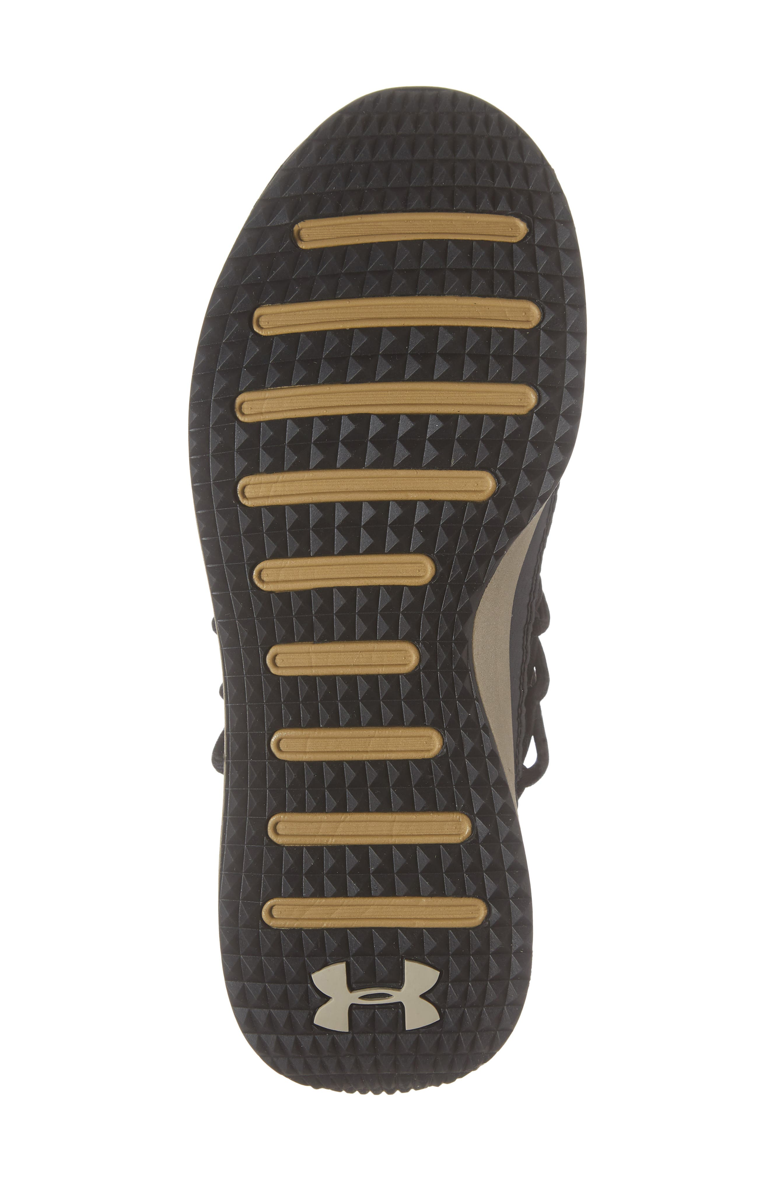 Breathe Lace X NM Sneaker,                             Alternate thumbnail 6, color,                             BLACK/ METALLIC FADED GOLD