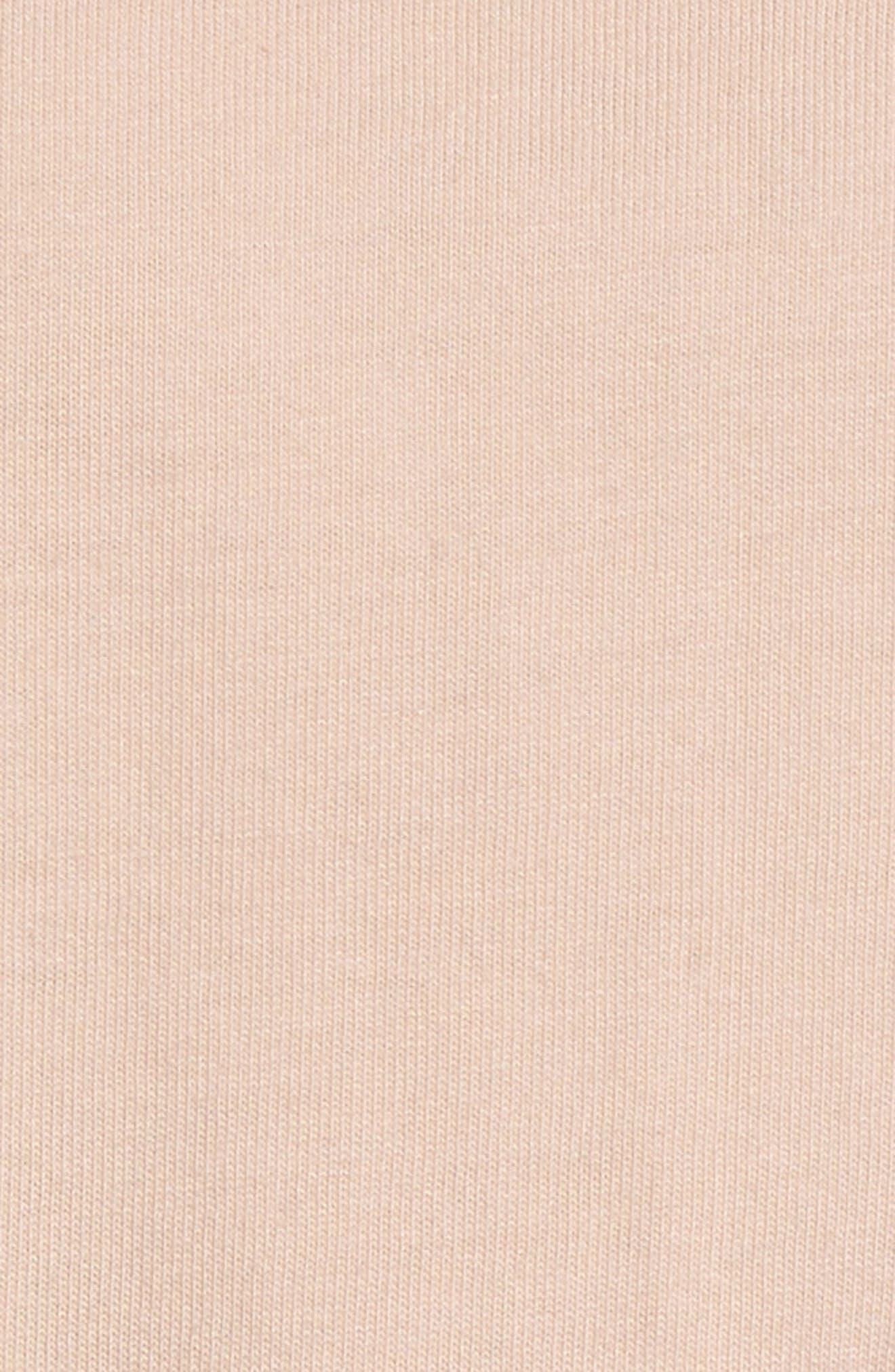Ruffle Long Sleeve Tee,                             Alternate thumbnail 5, color,                             650
