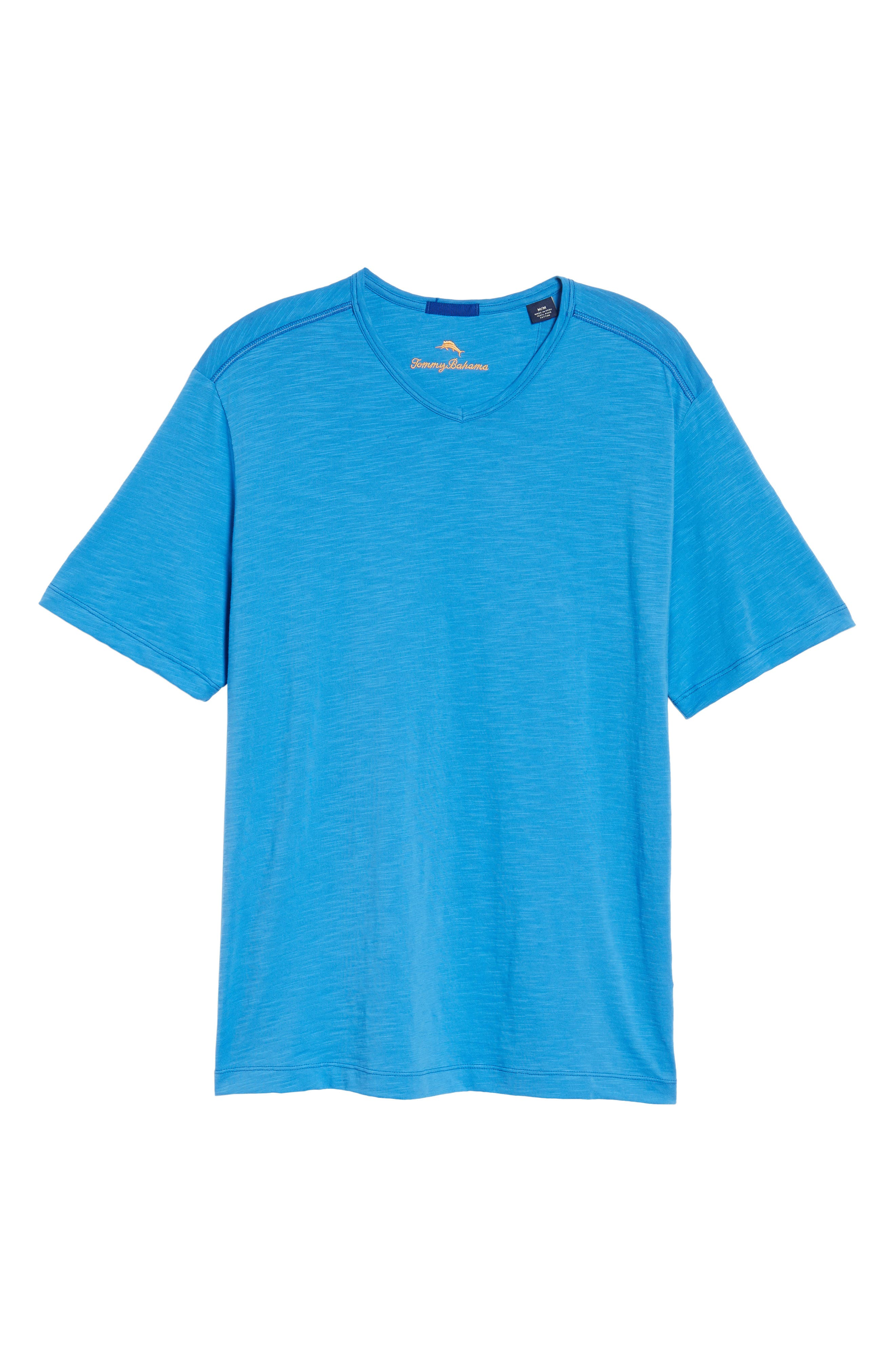 'Portside Player' Pima Cotton T-Shirt,                             Alternate thumbnail 6, color,                             401