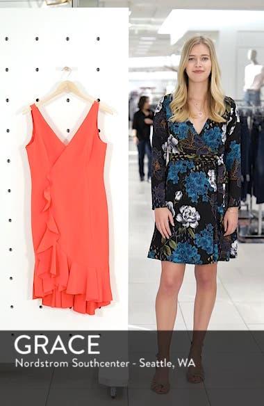 Laguna Ruffle Sheath Dress, sales video thumbnail