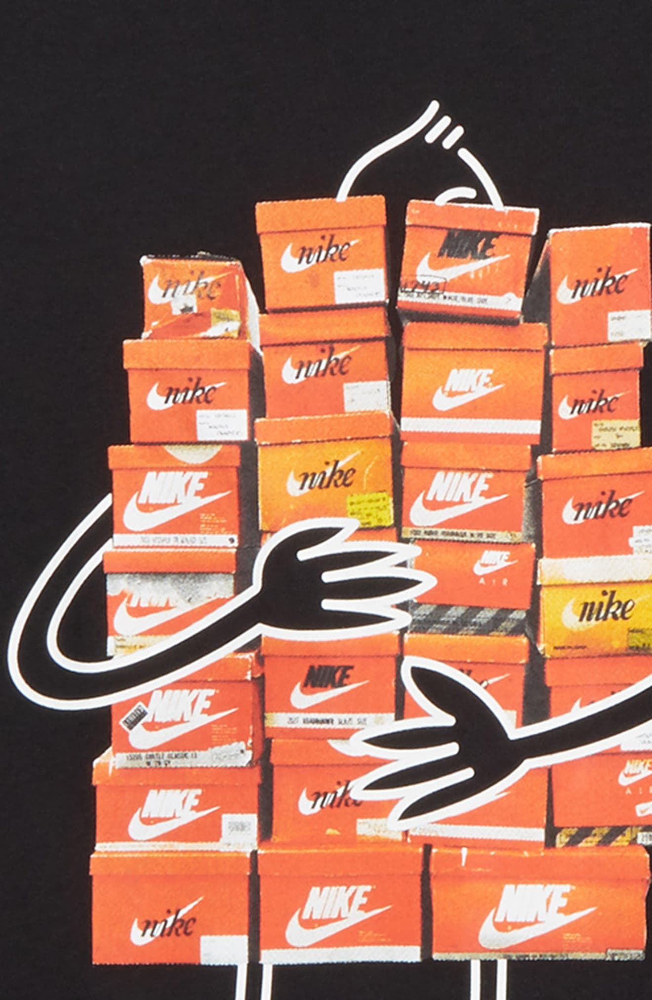 Sneaker Spree Graphic T-Shirt,                             Alternate thumbnail 2, color,                             010