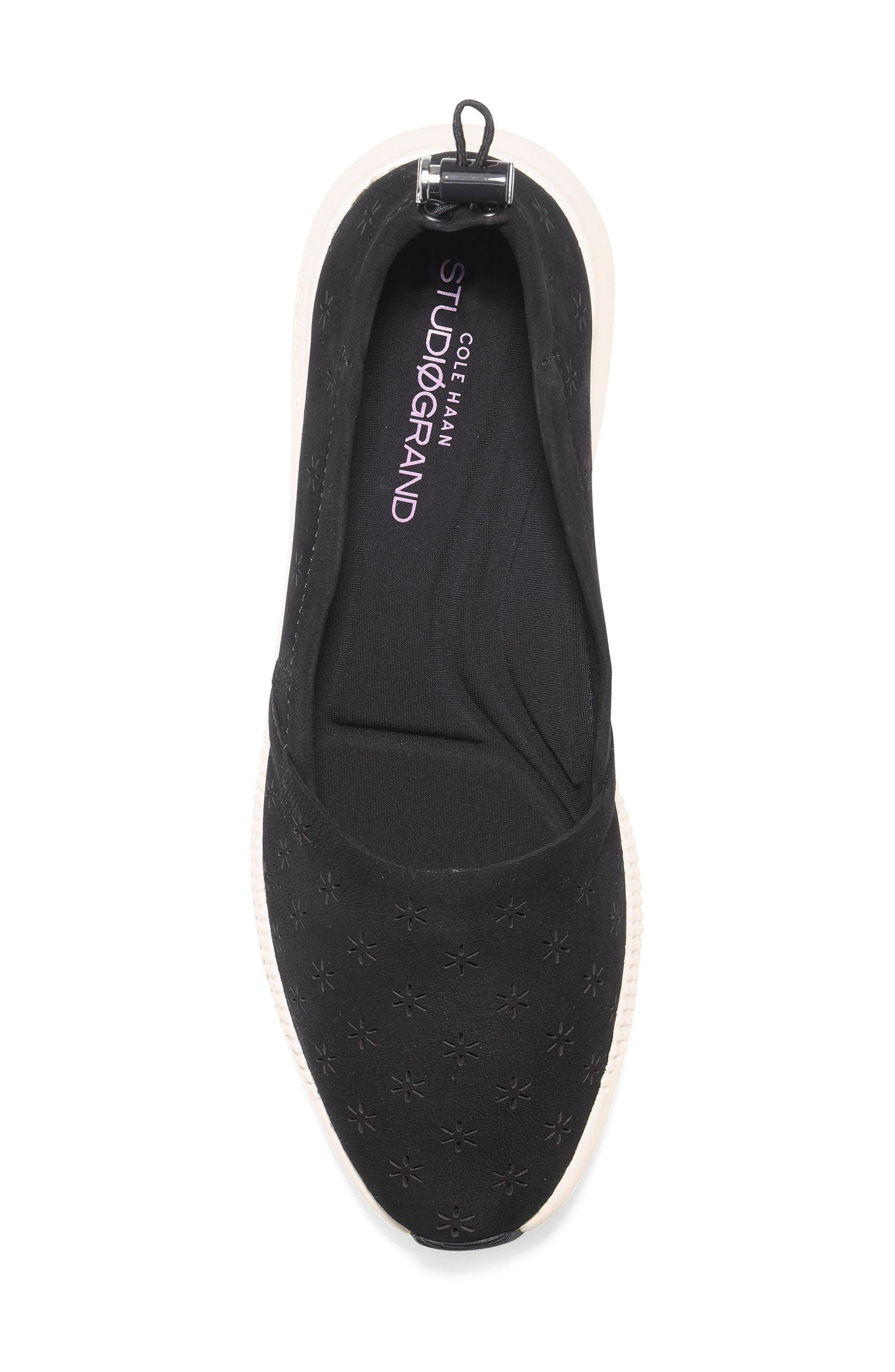 Studiogrand Perforated Slip-on,                             Alternate thumbnail 5, color,                             001