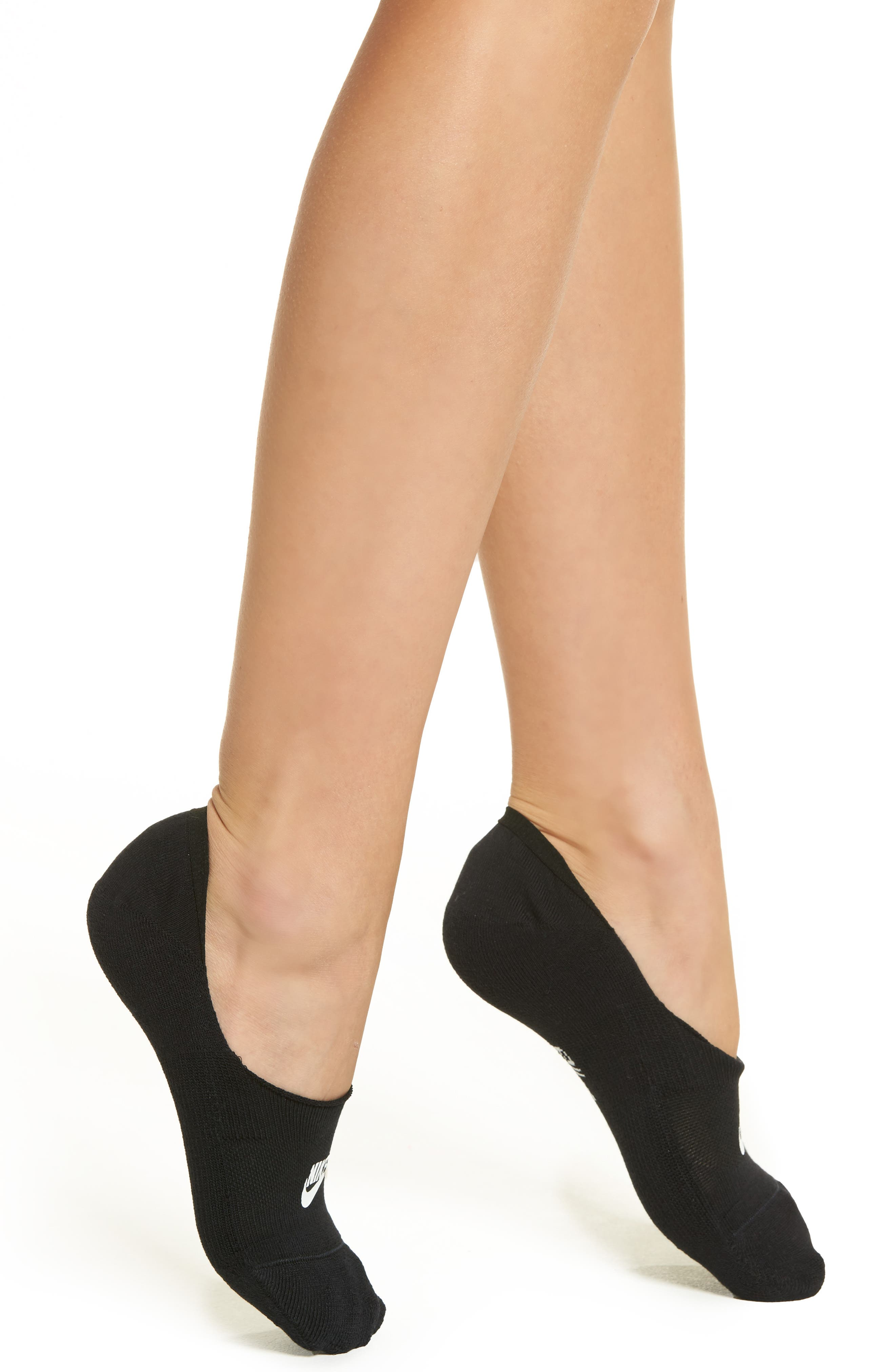 Sportswear Statement No-Show Socks,                         Main,                         color, 010