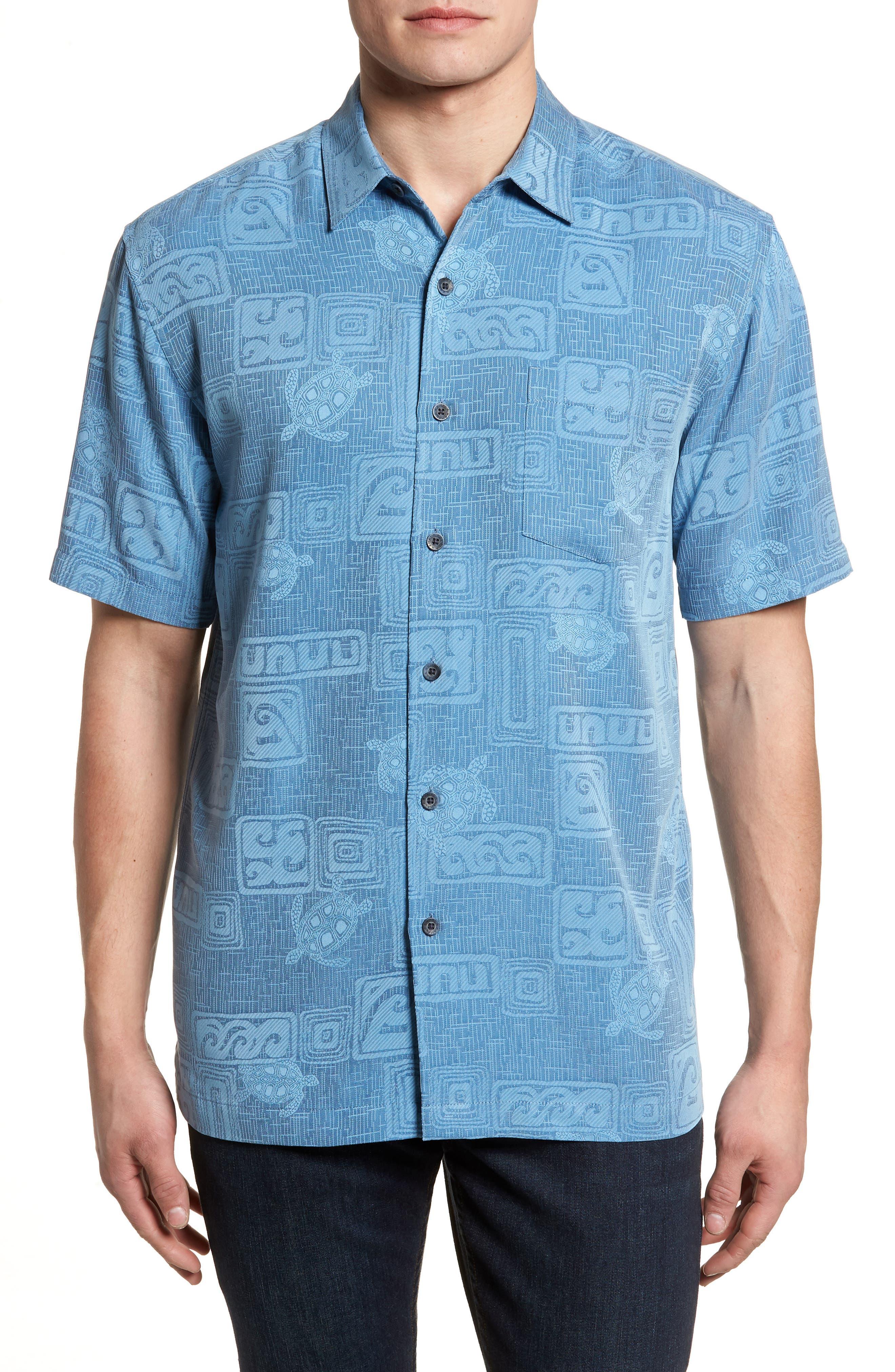 Sea Shells Classic Fit Sport Shirt,                             Main thumbnail 3, color,