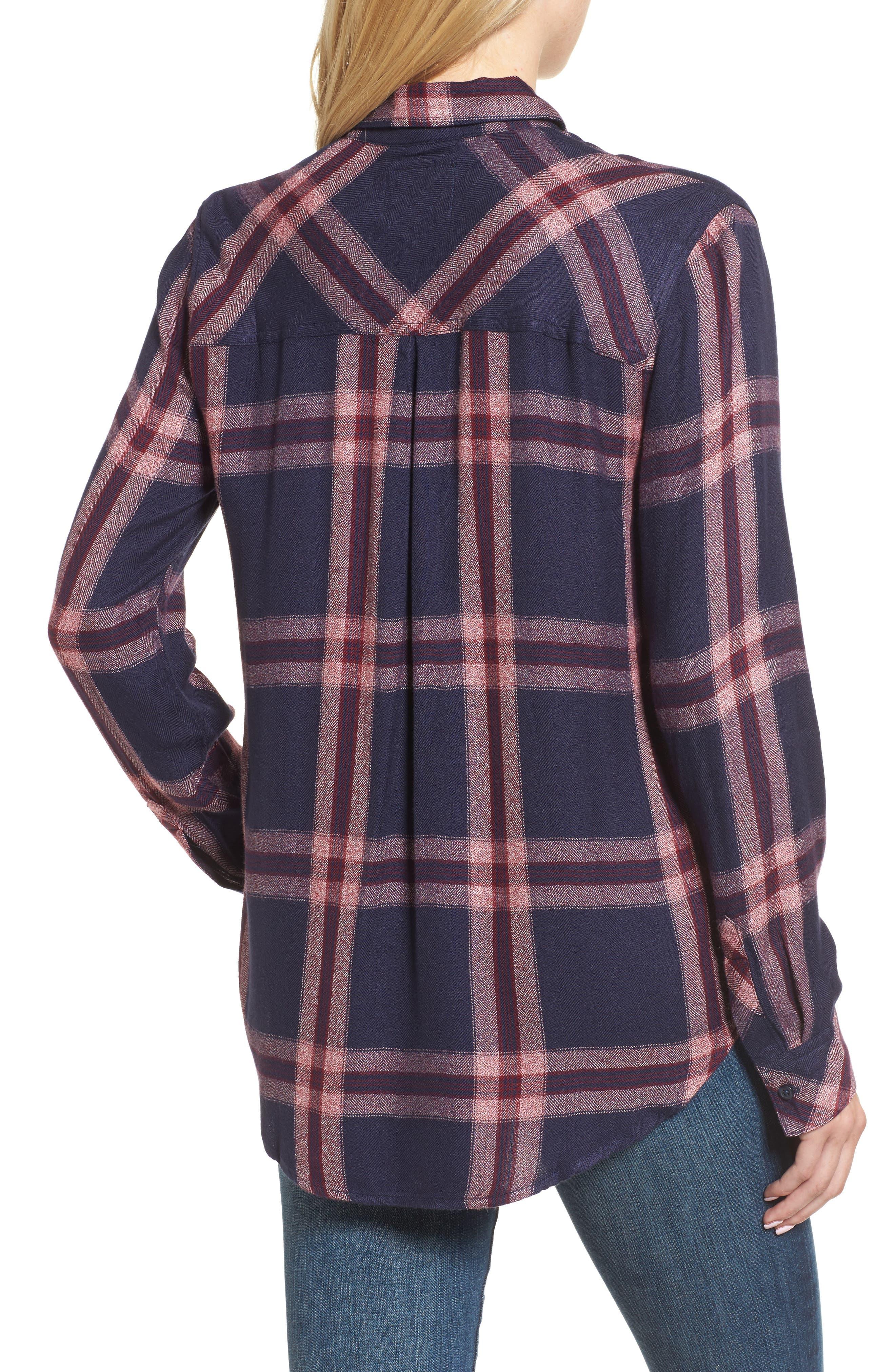 Hunter Plaid Shirt,                             Alternate thumbnail 181, color,