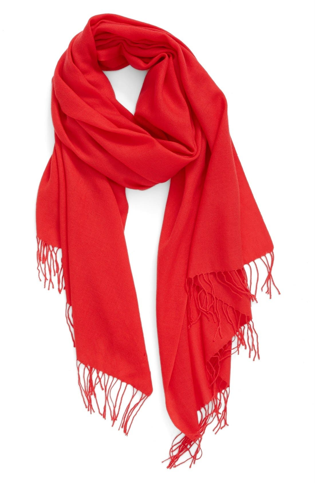 Tissue Weight Wool & Cashmere Scarf,                             Main thumbnail 55, color,