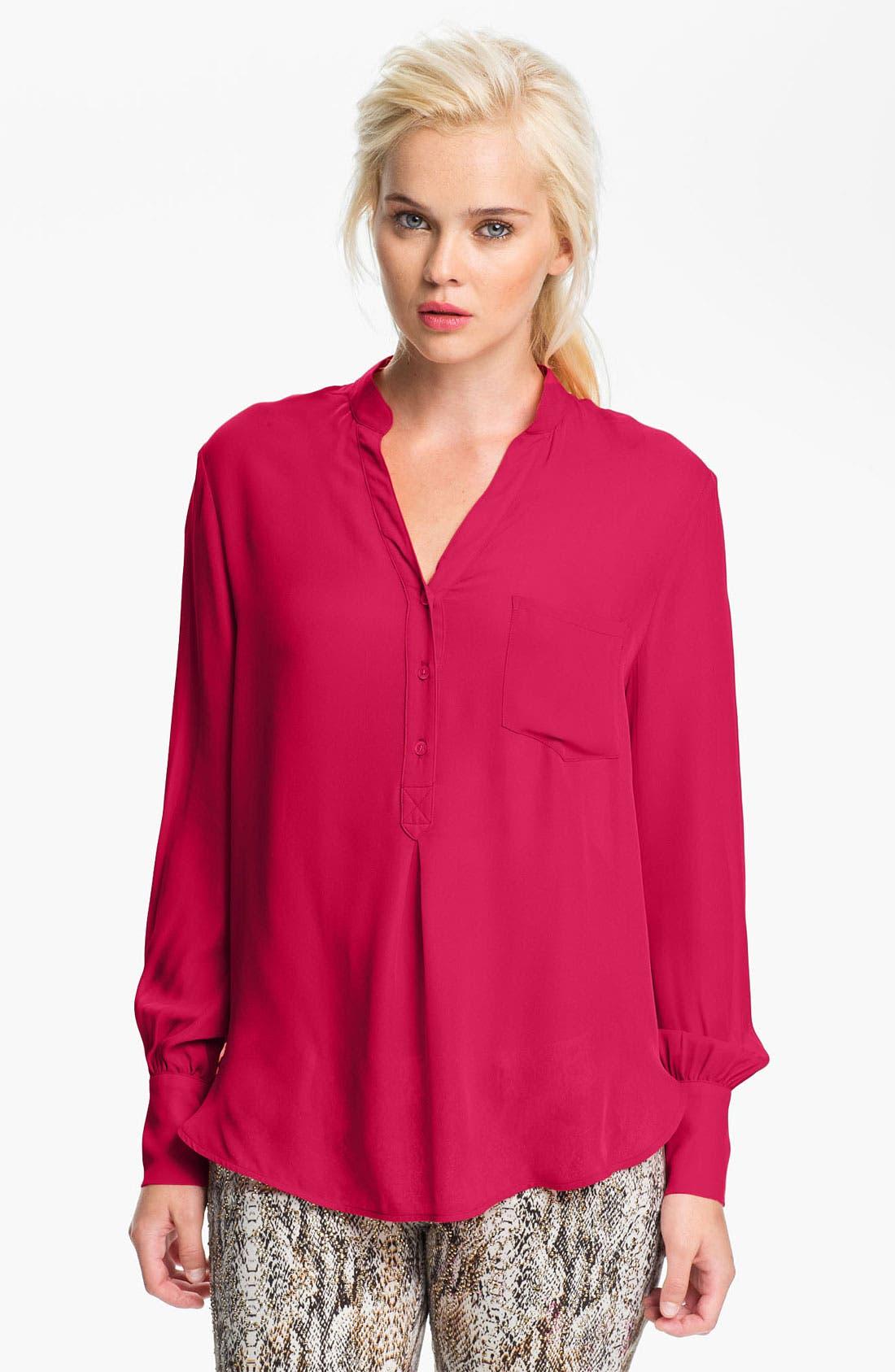 Silk Blouse,                         Main,                         color, 650