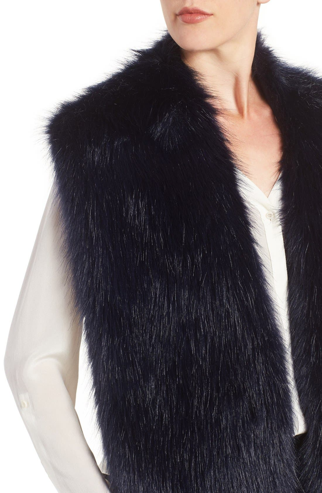 Faux Mink Stole,                             Alternate thumbnail 19, color,