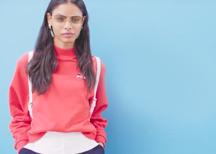 Play video to learn how to wear sporty pieces to work.