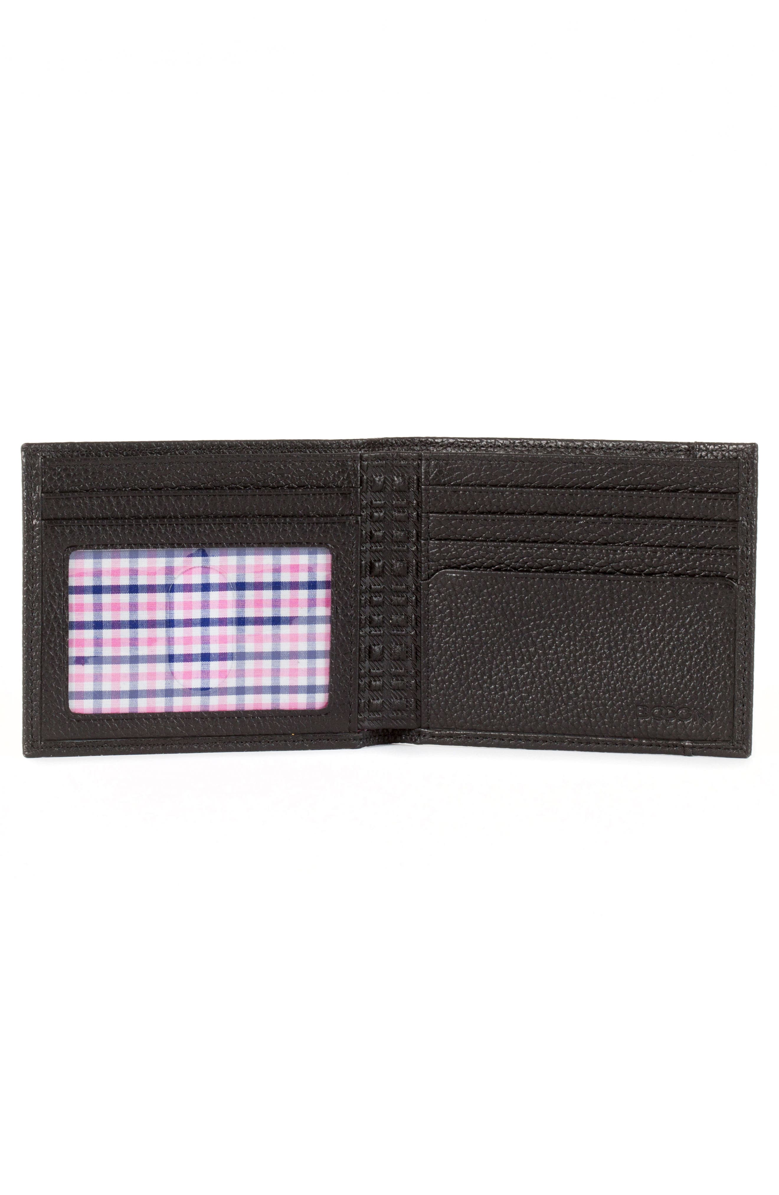 Garth Leather Bifold Wallet,                             Alternate thumbnail 2, color,                             001