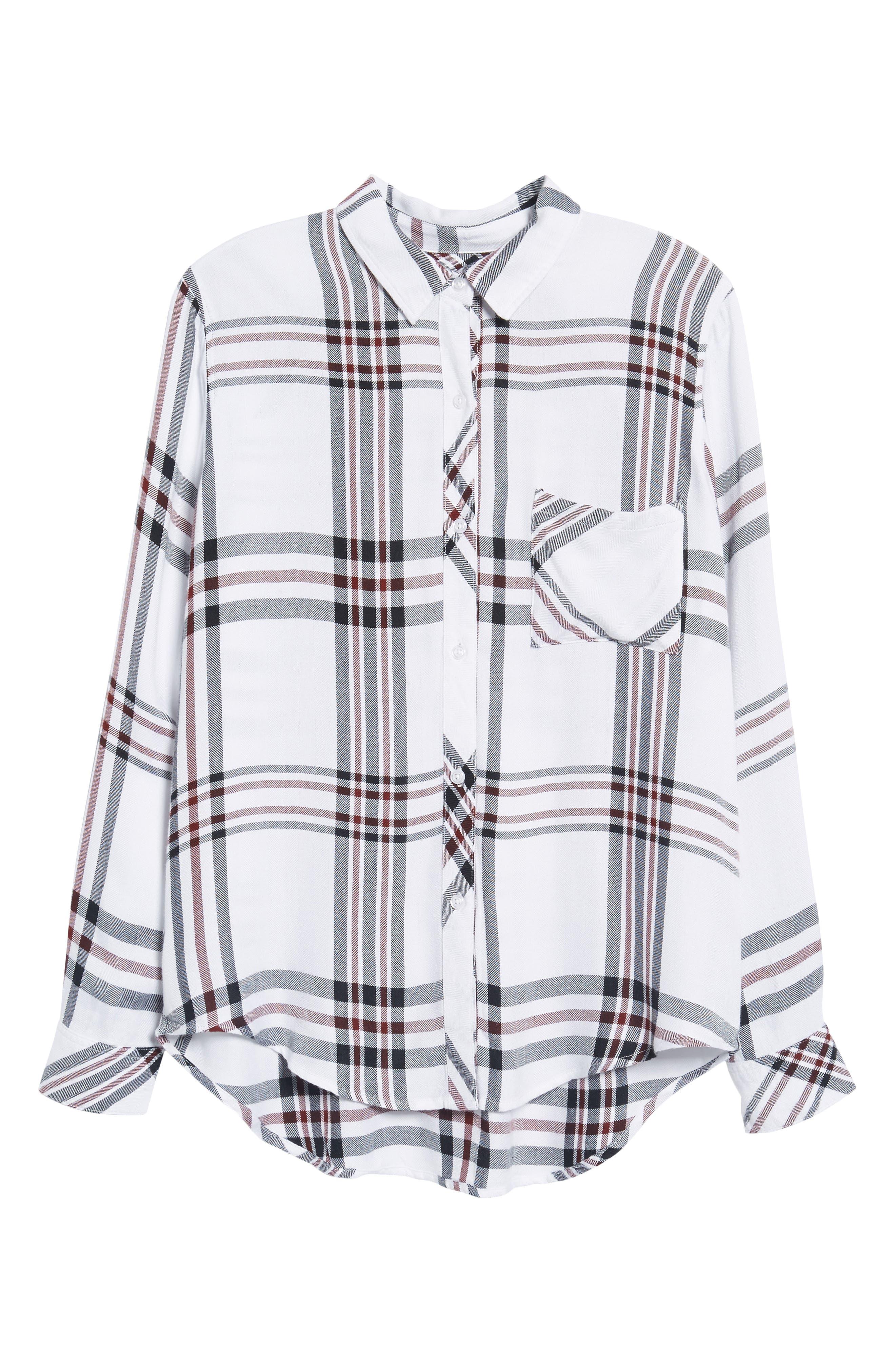 Hunter Plaid Shirt,                             Alternate thumbnail 700, color,