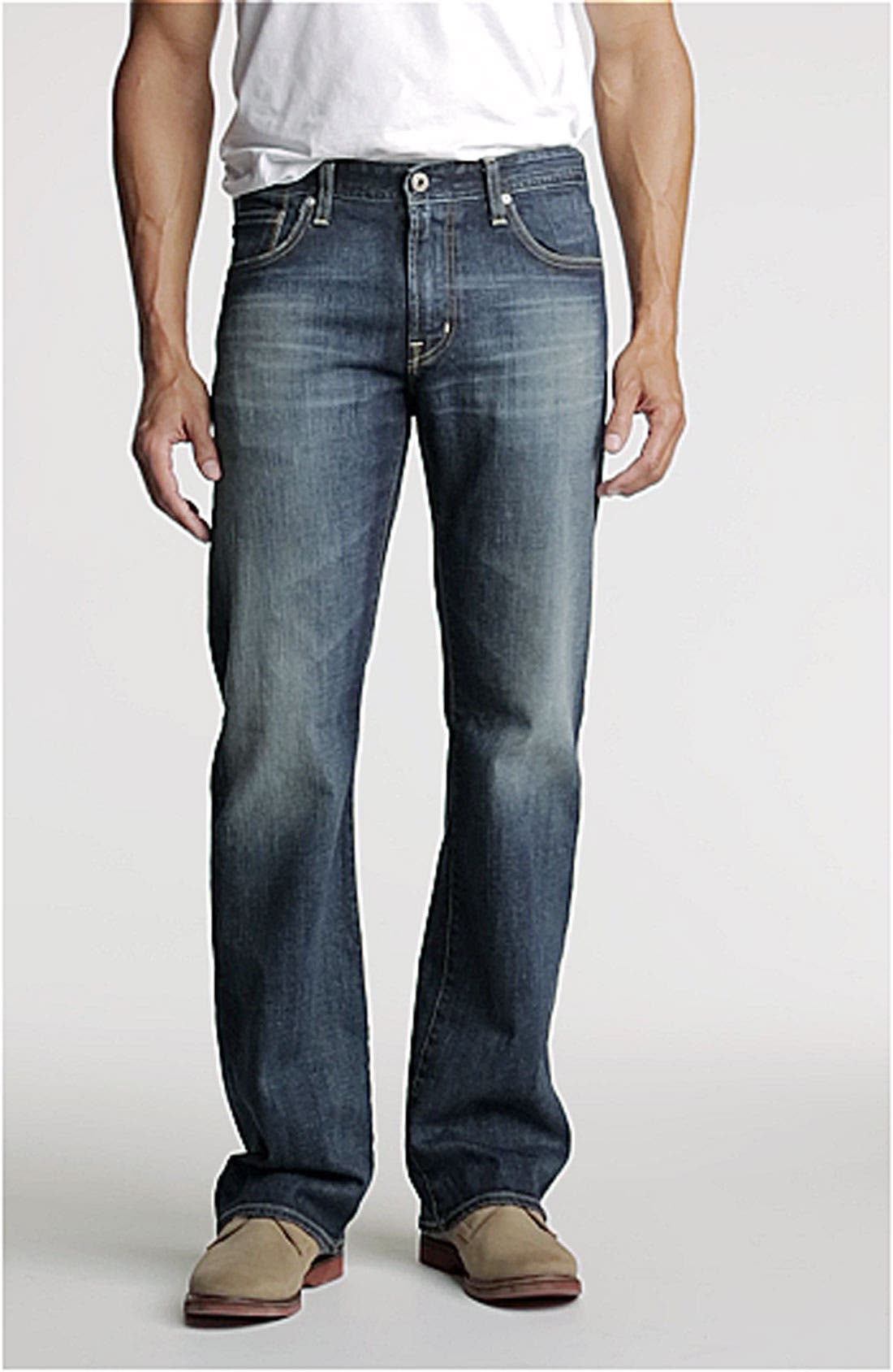 AG Jeans 'Hero' Relaxed Fit Jeans, Main, color, 420
