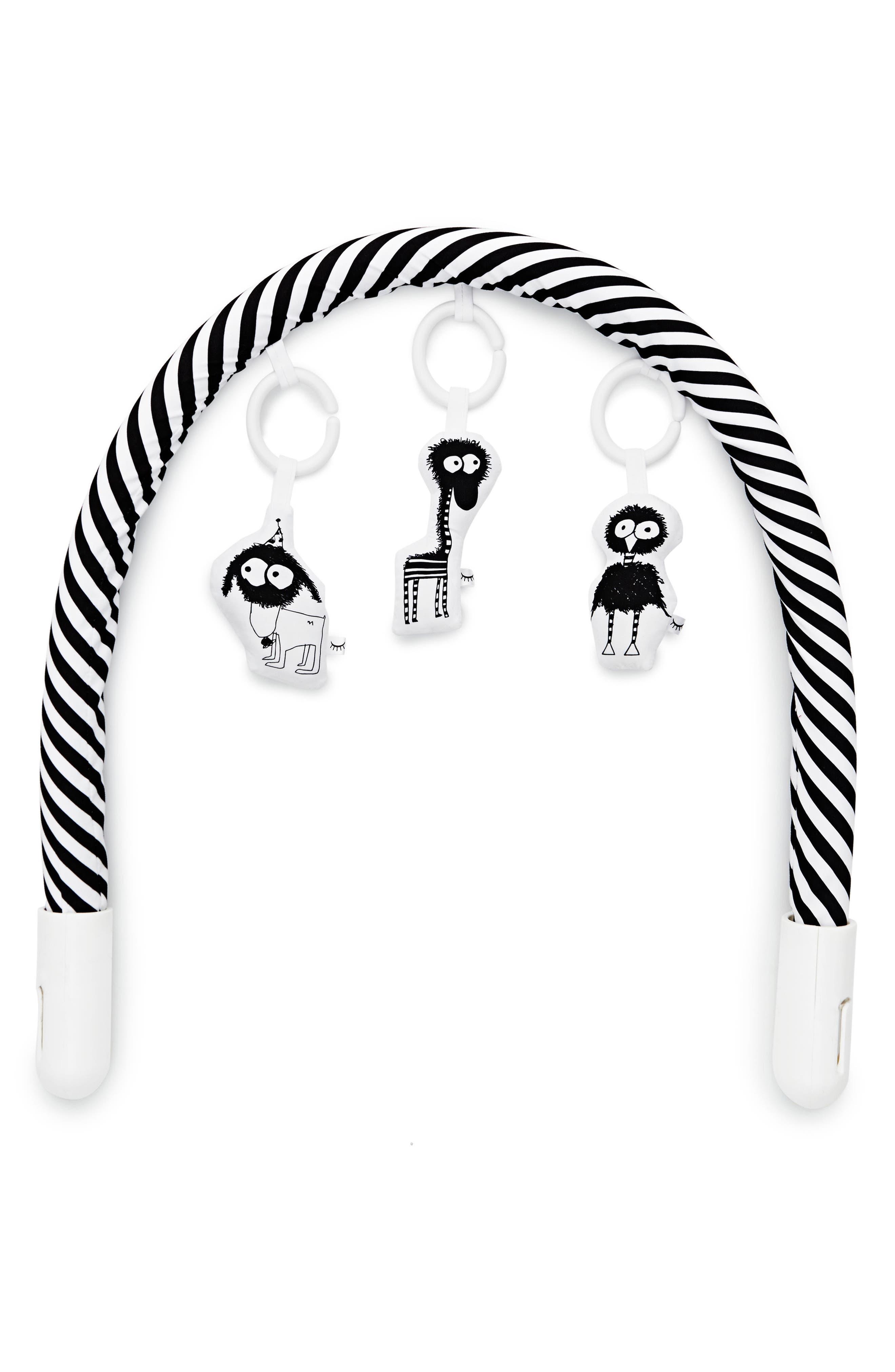 Toy Arch,                             Alternate thumbnail 5, color,                             BLACK/ WHITE