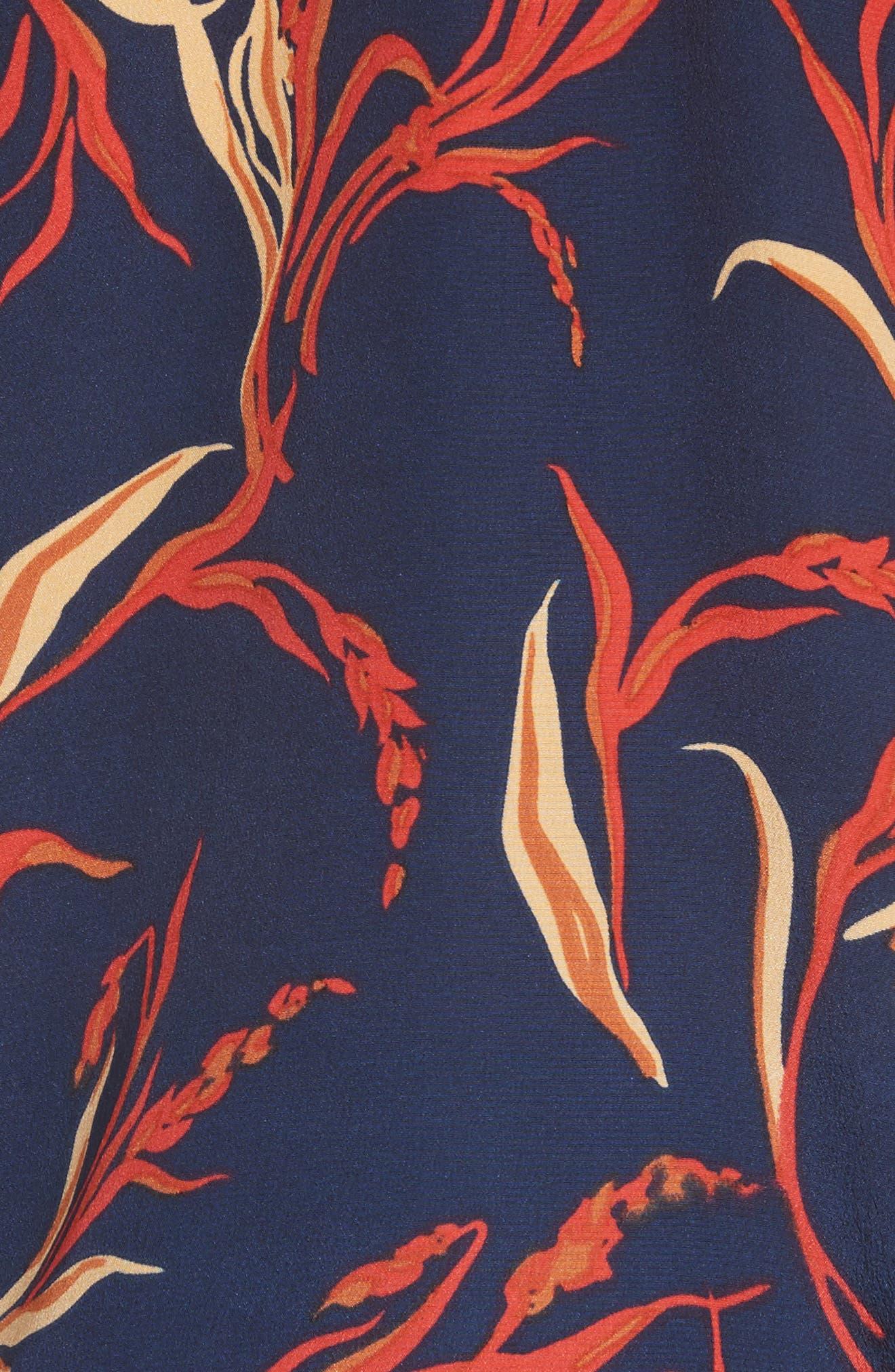Mary Jane Silk Tank,                             Alternate thumbnail 5, color,                             460