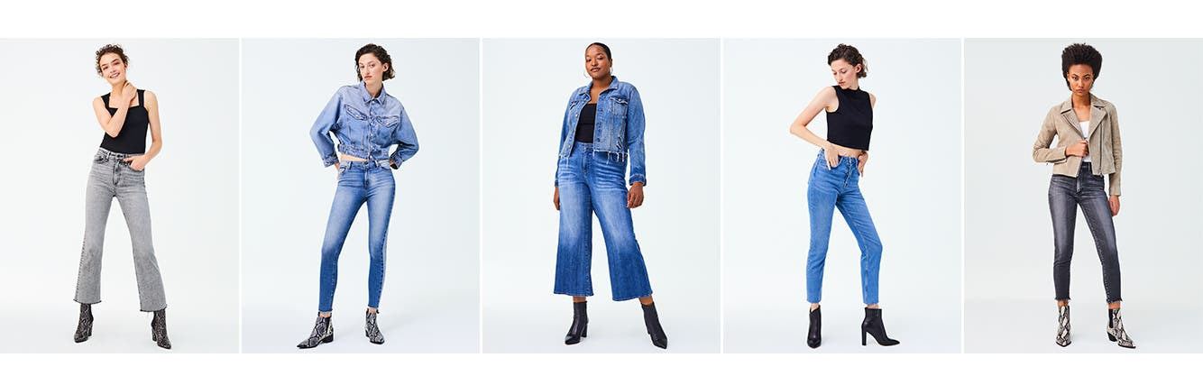 Women's jeans and denim.