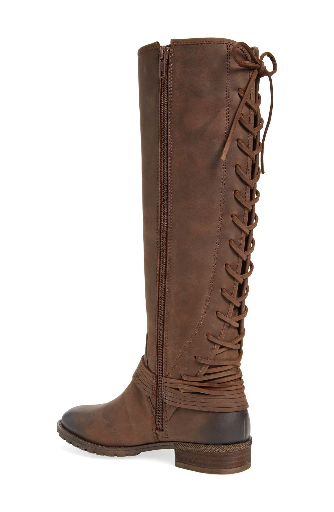 'Darla' Riding Boot,                             Alternate thumbnail 4, color,