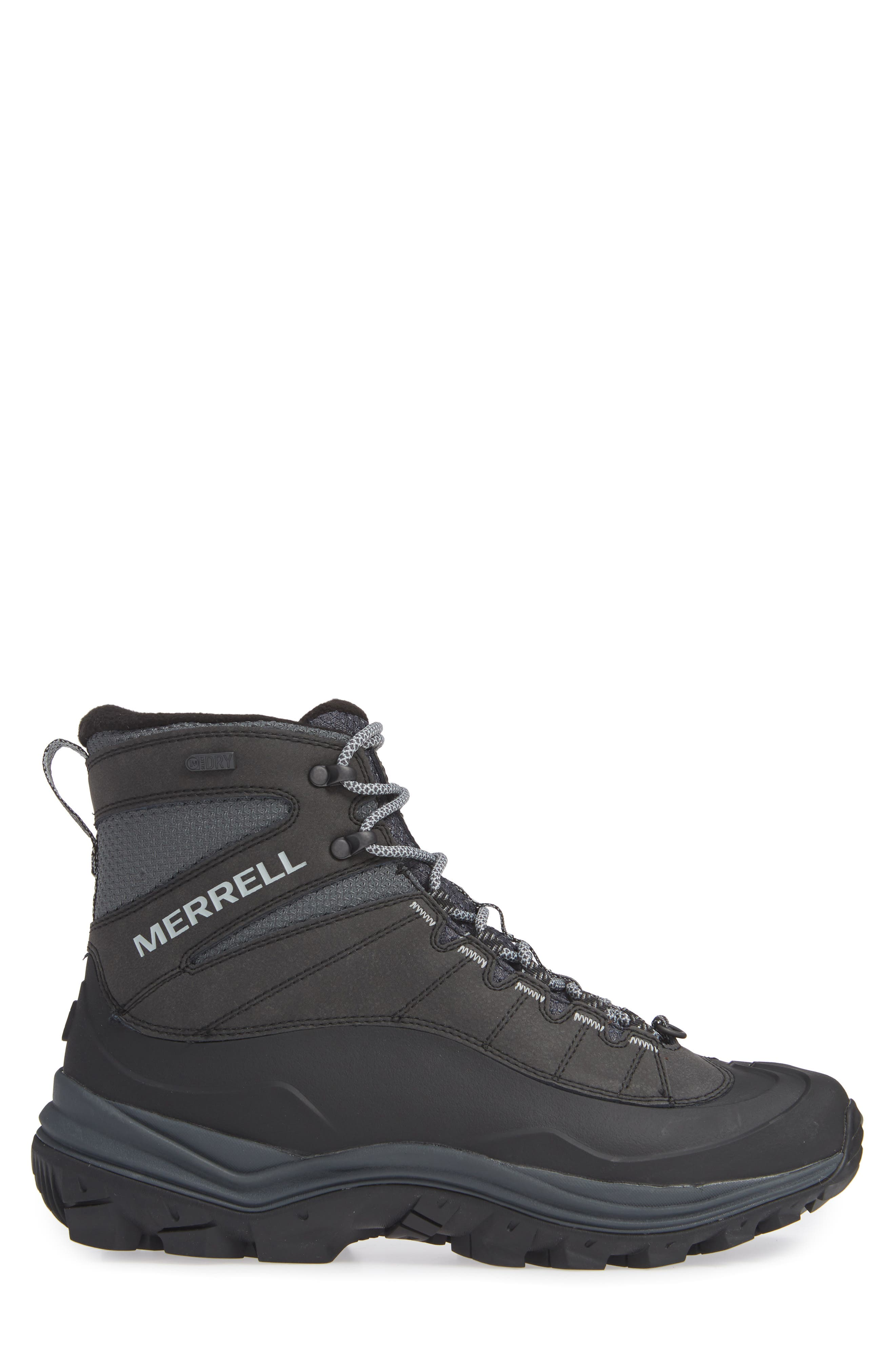 Thermo Chill Waterproof Snow Boot,                             Alternate thumbnail 3, color,                             BLACK
